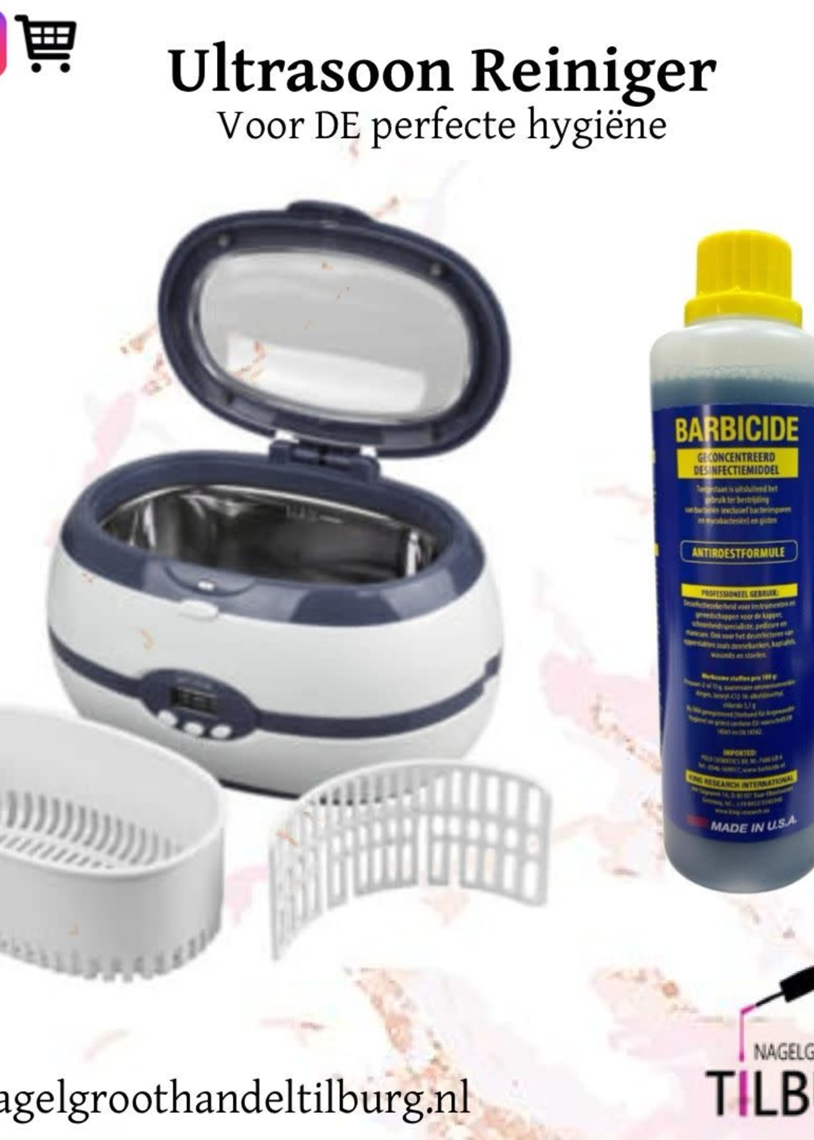 Limpiador Ultrasónico + Barbicida 480ml