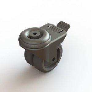 Dual feed wheel brakes
