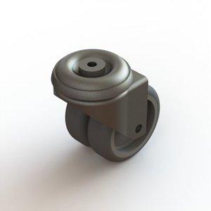 Dual wheel without brake
