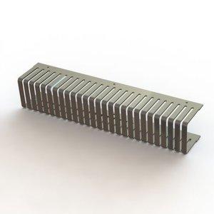 Geplooide Duwkam 15mm