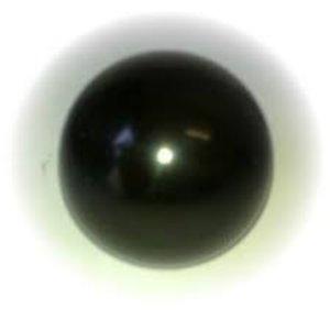 Bulb for control lever black bakelite