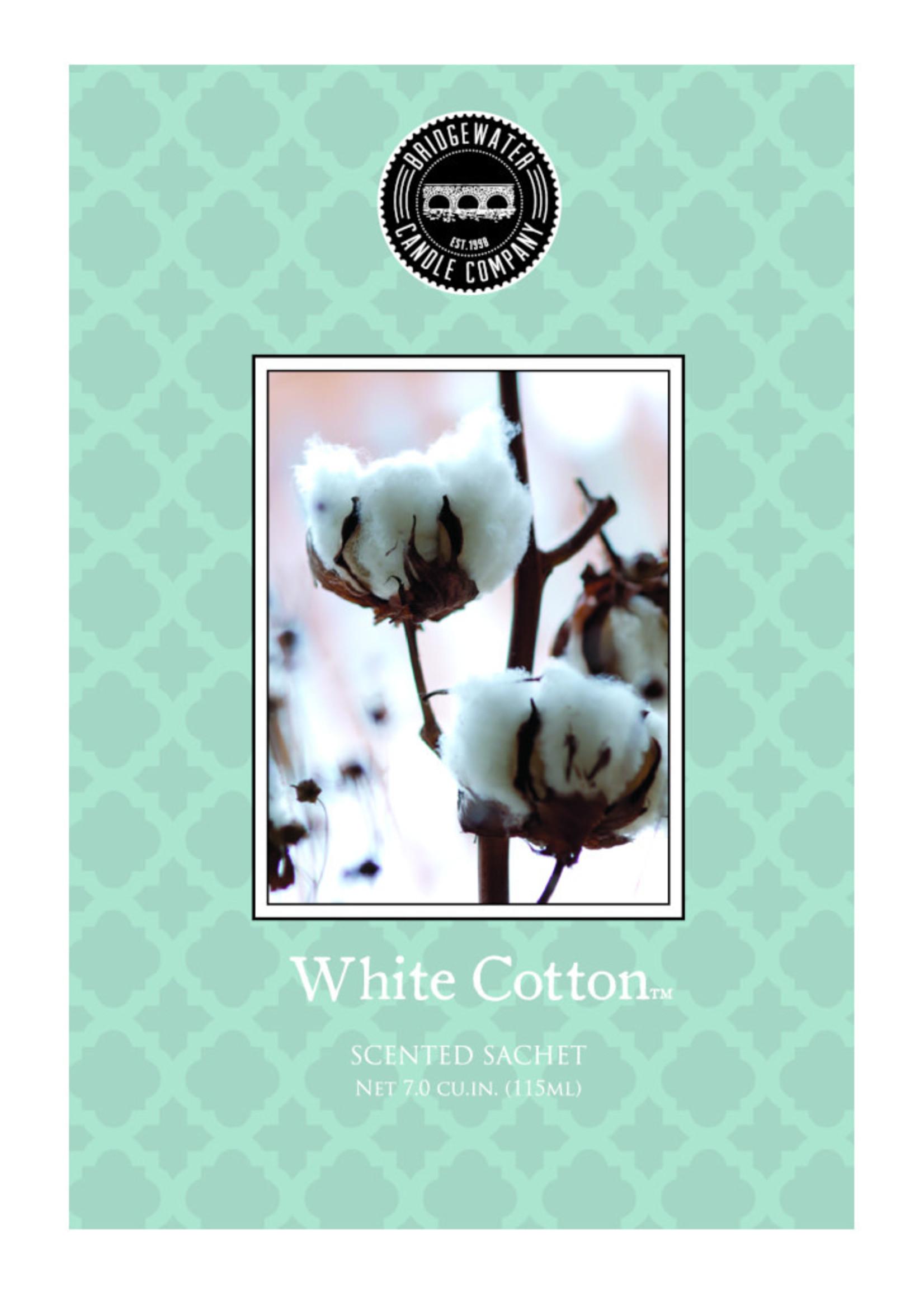Scented Sachet White Cotton