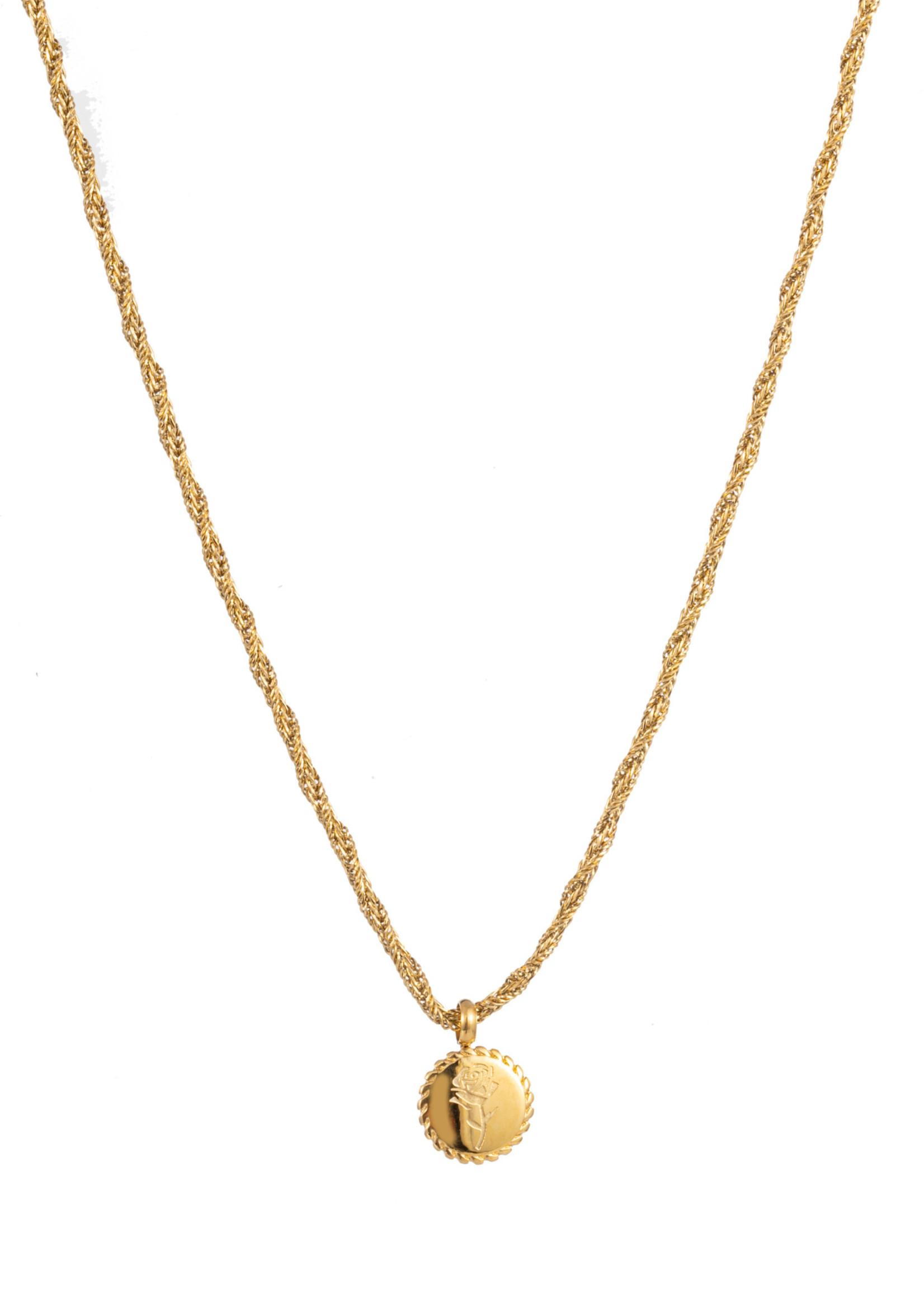 Ketting goud roos N1350-2