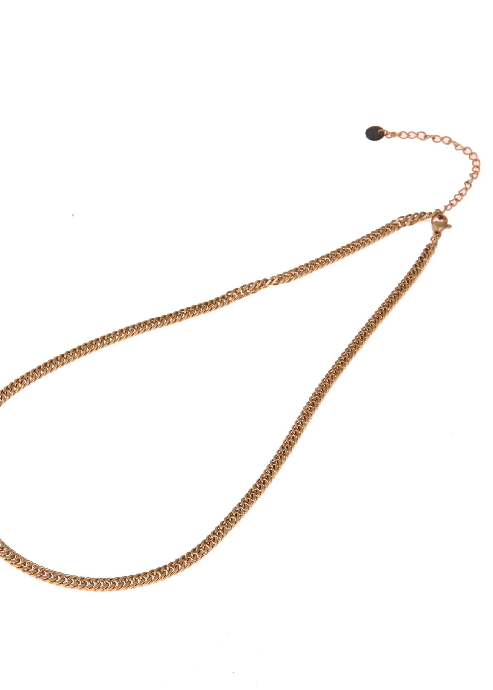 Ketting goud fijne schakel N0888-2
