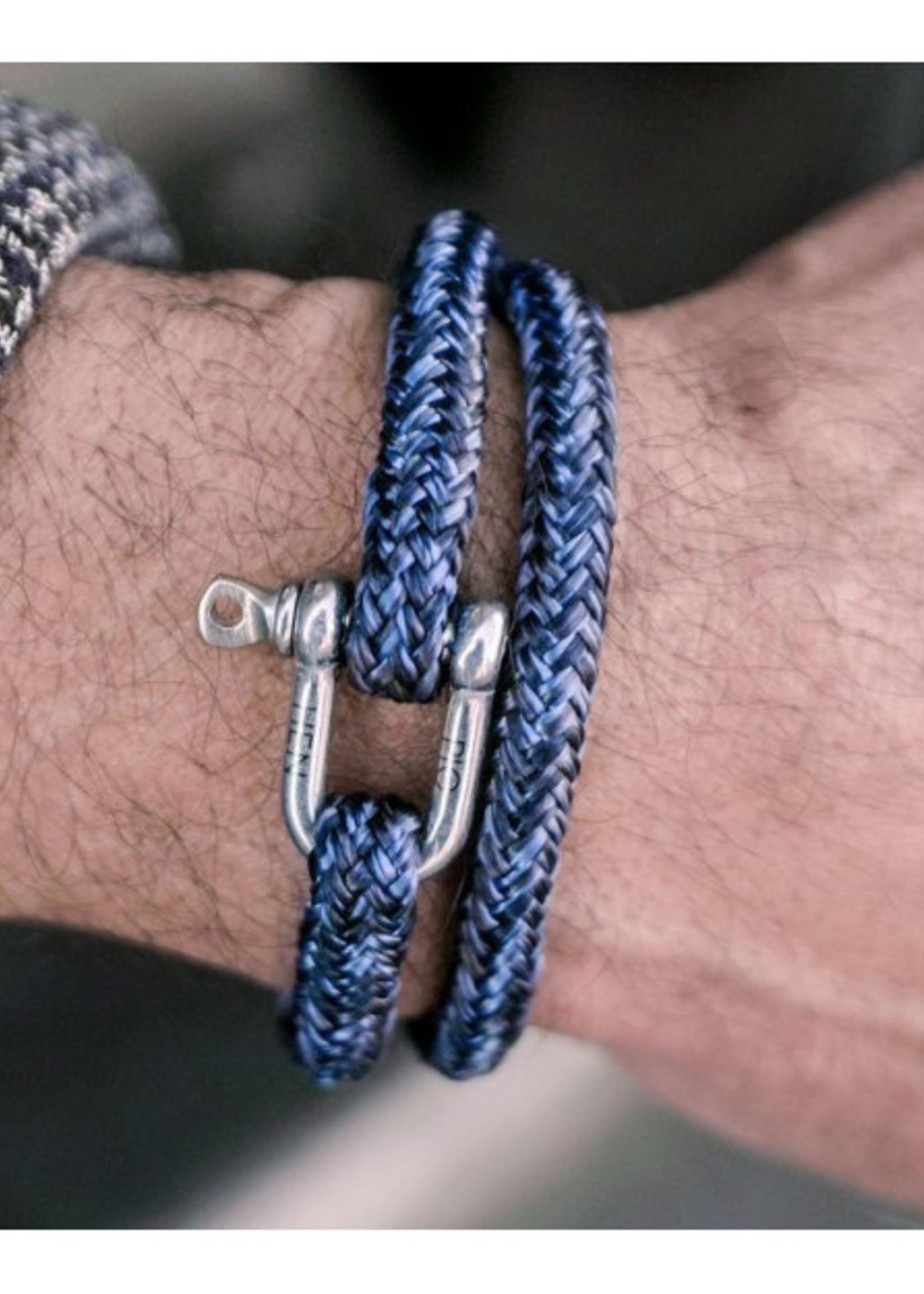 Salty steve - Navy - Violet Blue - Slate Gray | Silver
