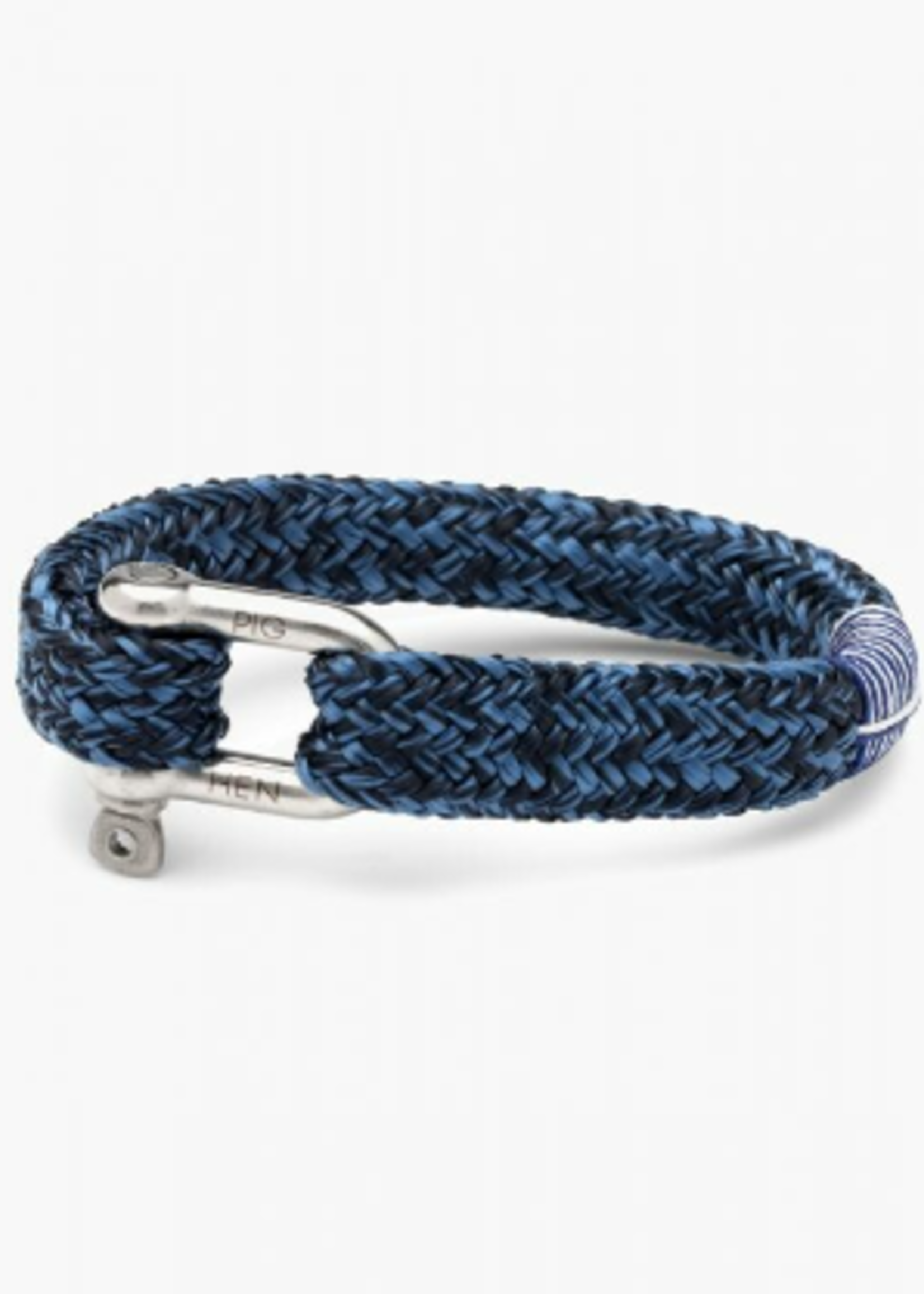 Gordeous George Navy - Violet Blue   Silver