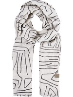ZUSSS sjaal met safaripint zand