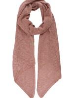 ZUSSS luchtig gebreide sjaal rouge