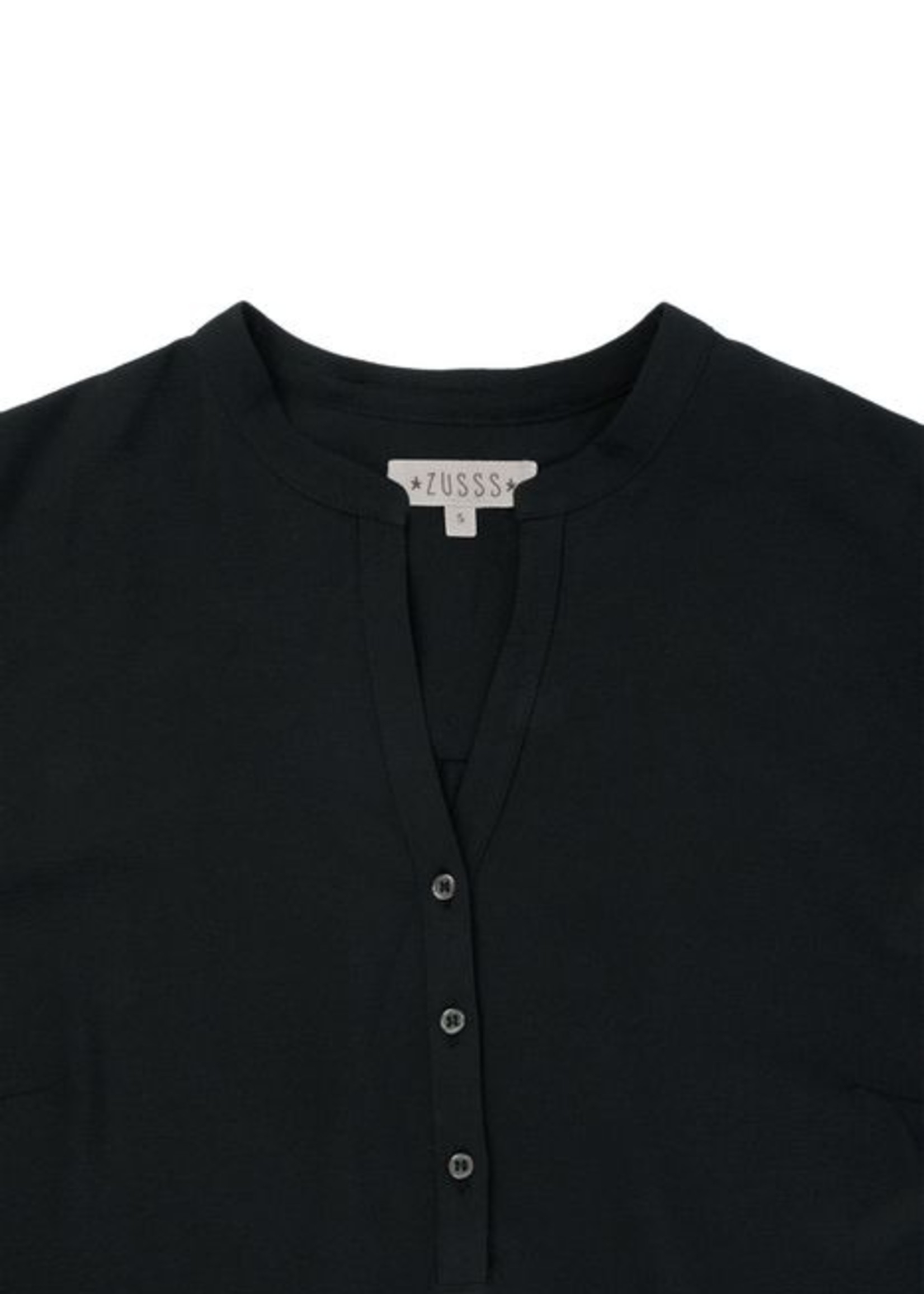 ZUSSS lief blouseje zwart