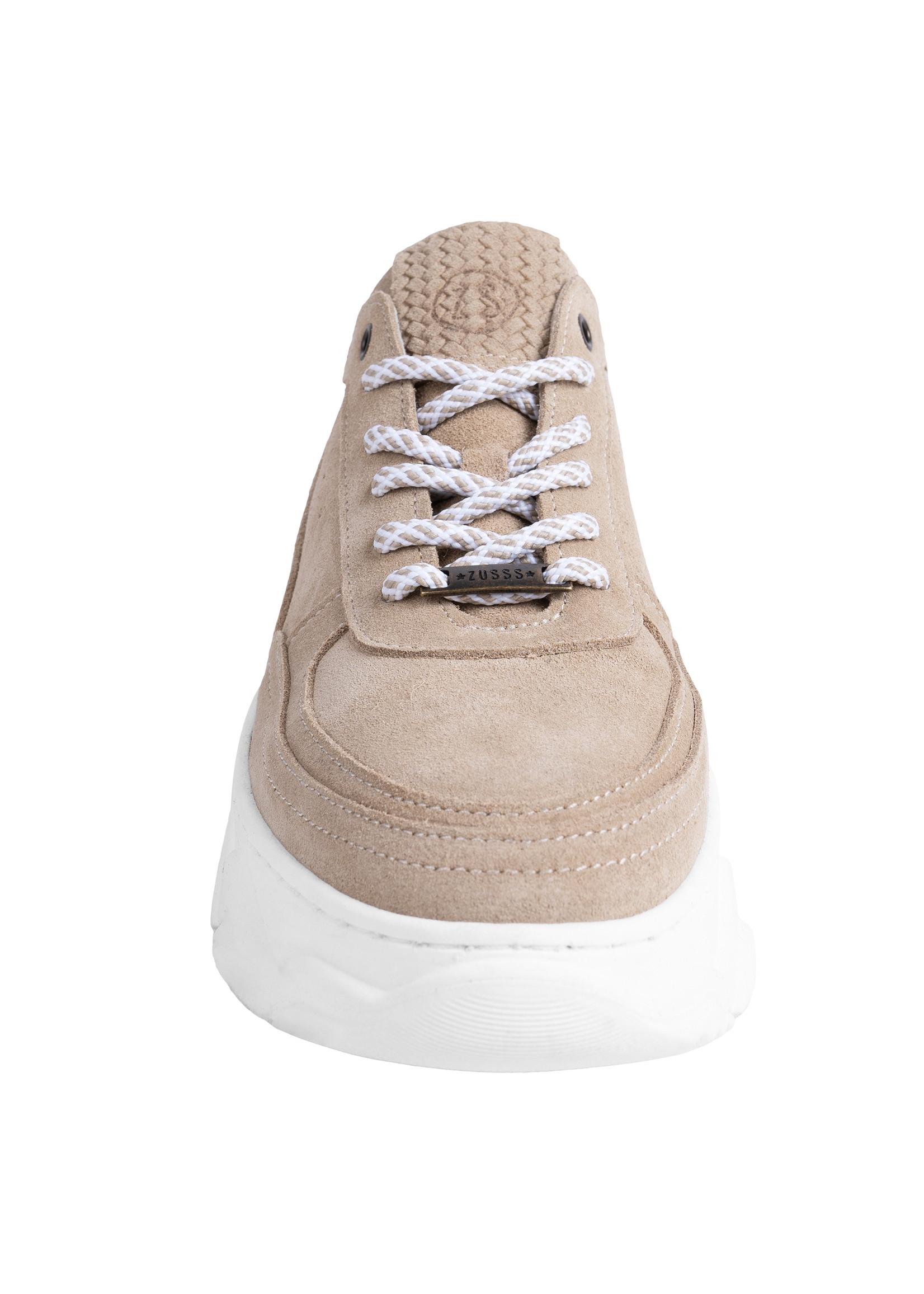 ZUSSS Gave sneaker zand