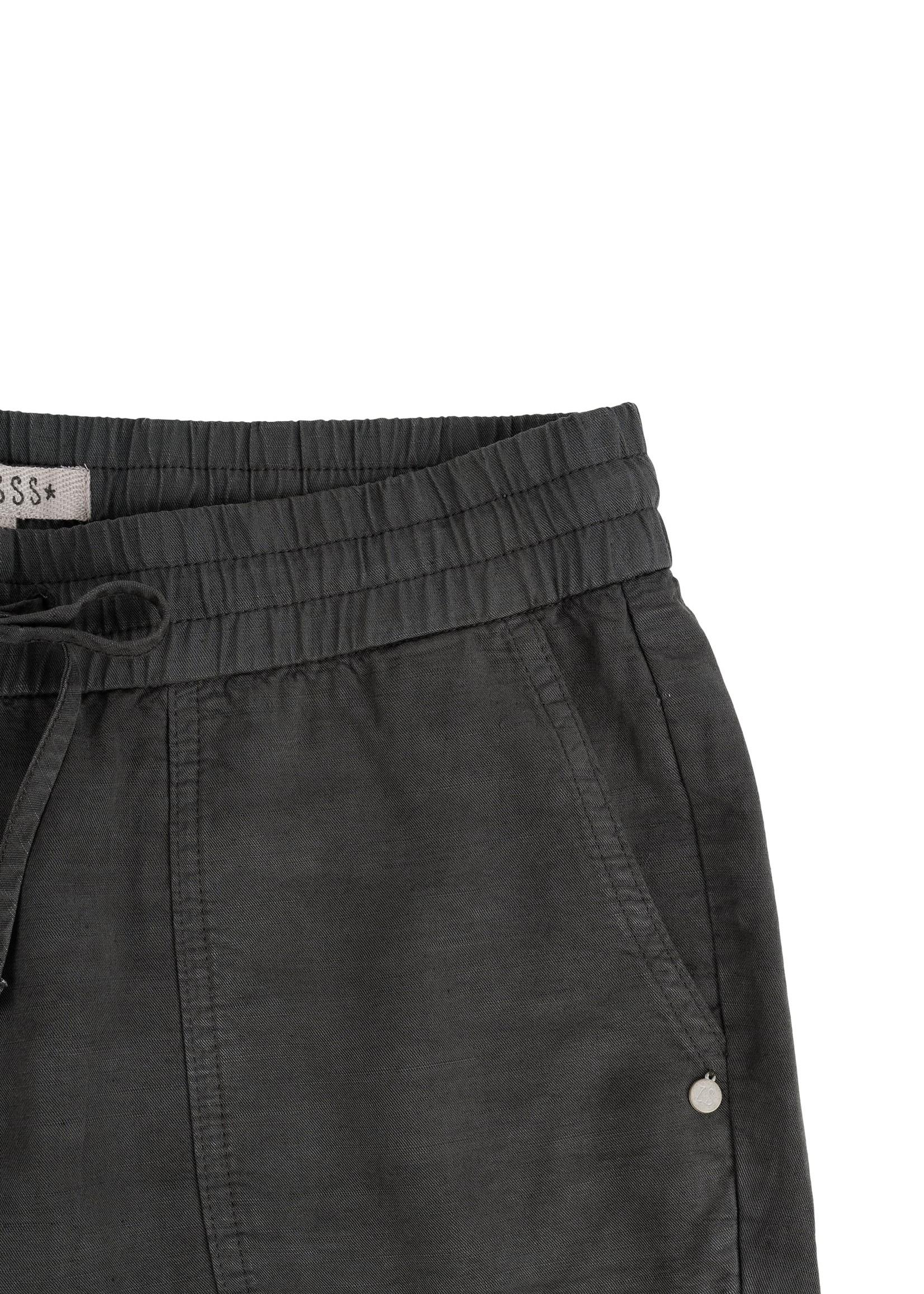 ZUSSS broek met zakken grafietgrijs