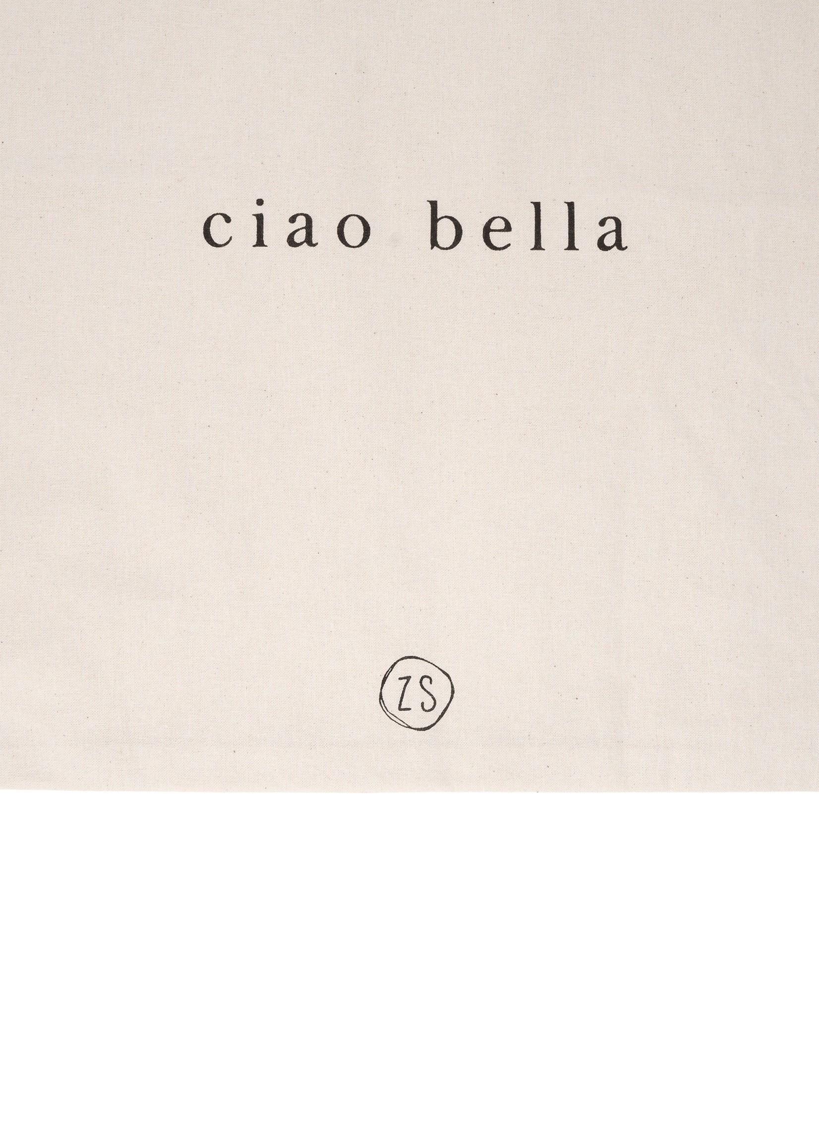 ZUSSS katoenen tasje ciao bella naturel