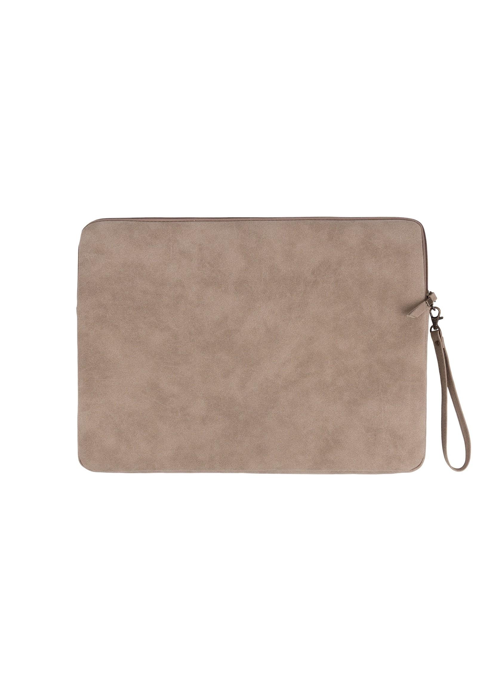 ZUSSS laptopcover zand 17 inch