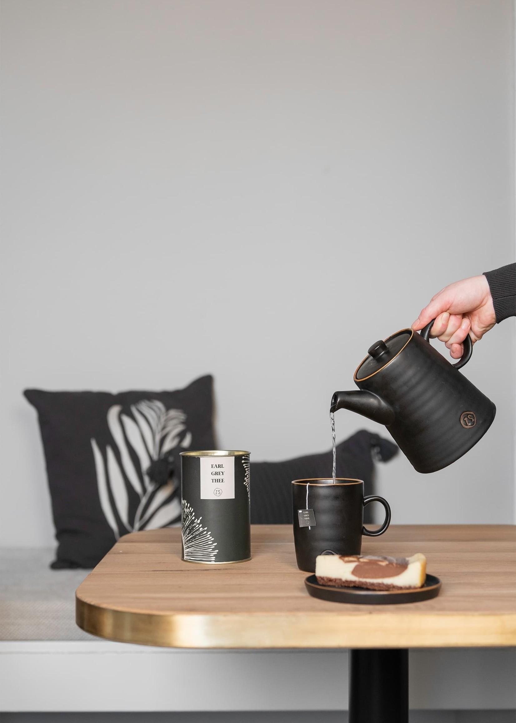 ZUSSS thee in luxe koker earl grey grafietgrijs