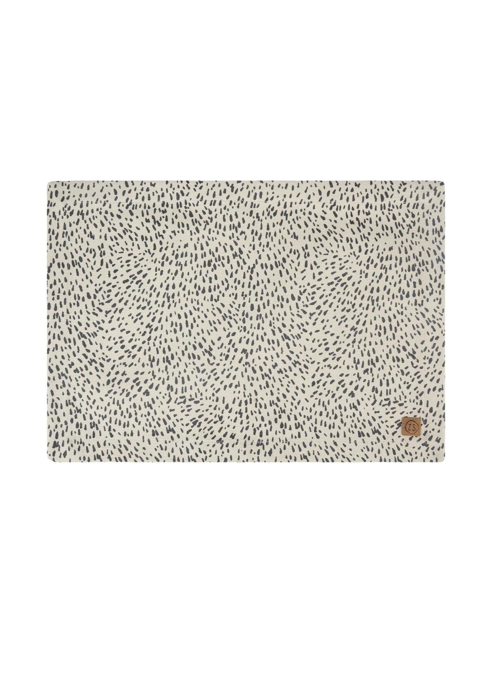 ZUSSS placemat spikkels zand