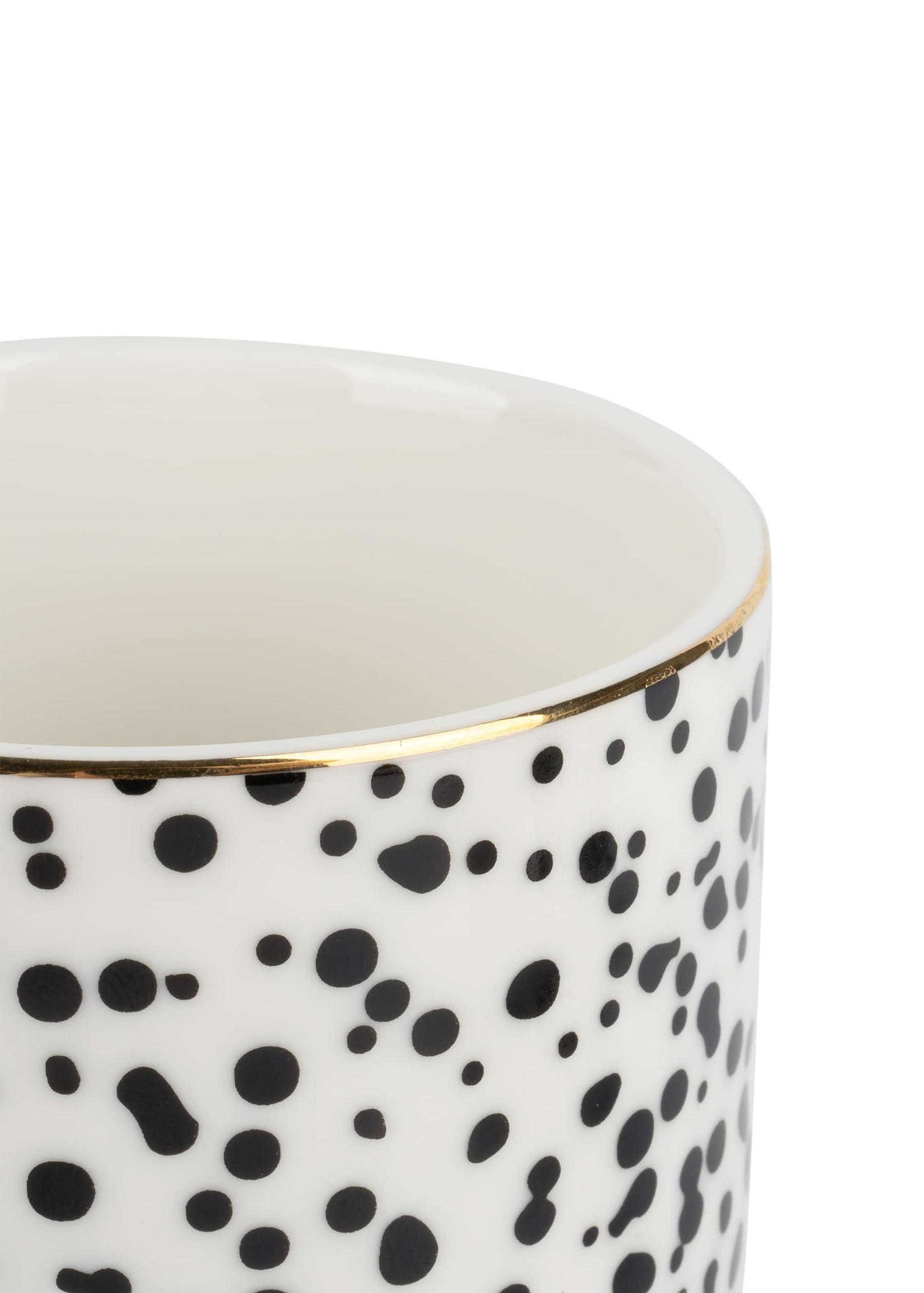 ZUSSS espressokopje spikkels/goud