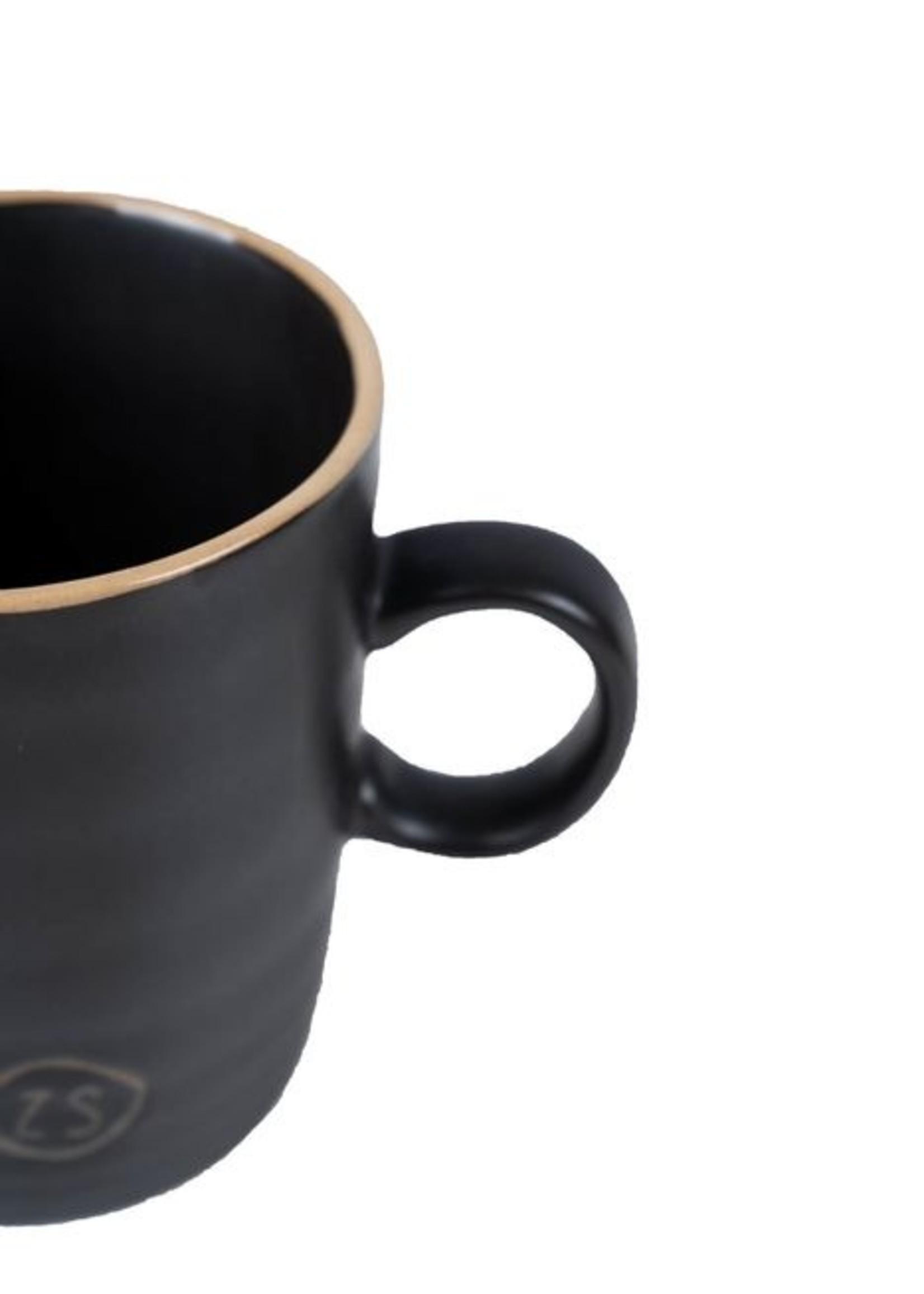 ZUSSS theemok aardewerk zwart