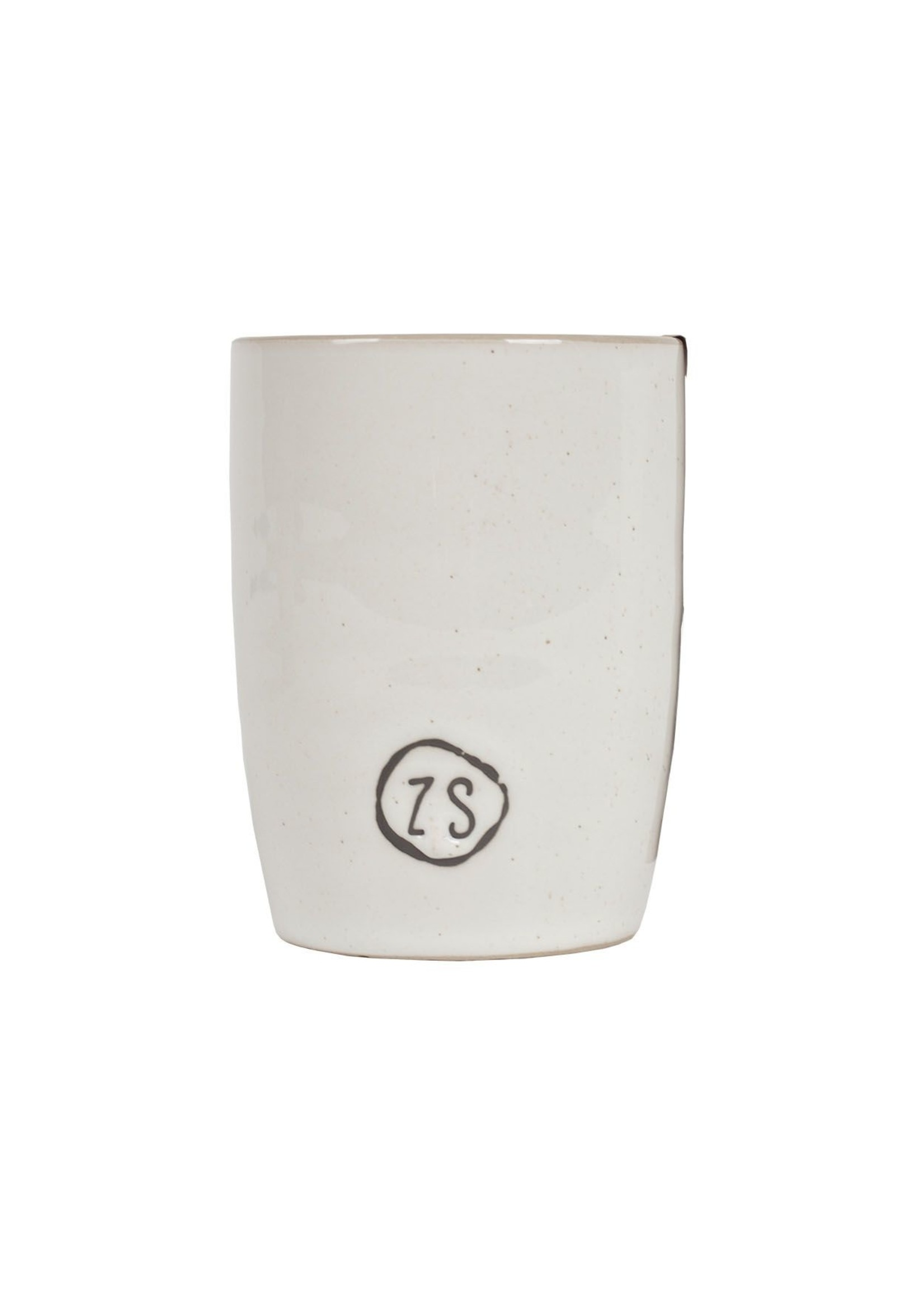 ZUSSS koffiemok aardewerk wit