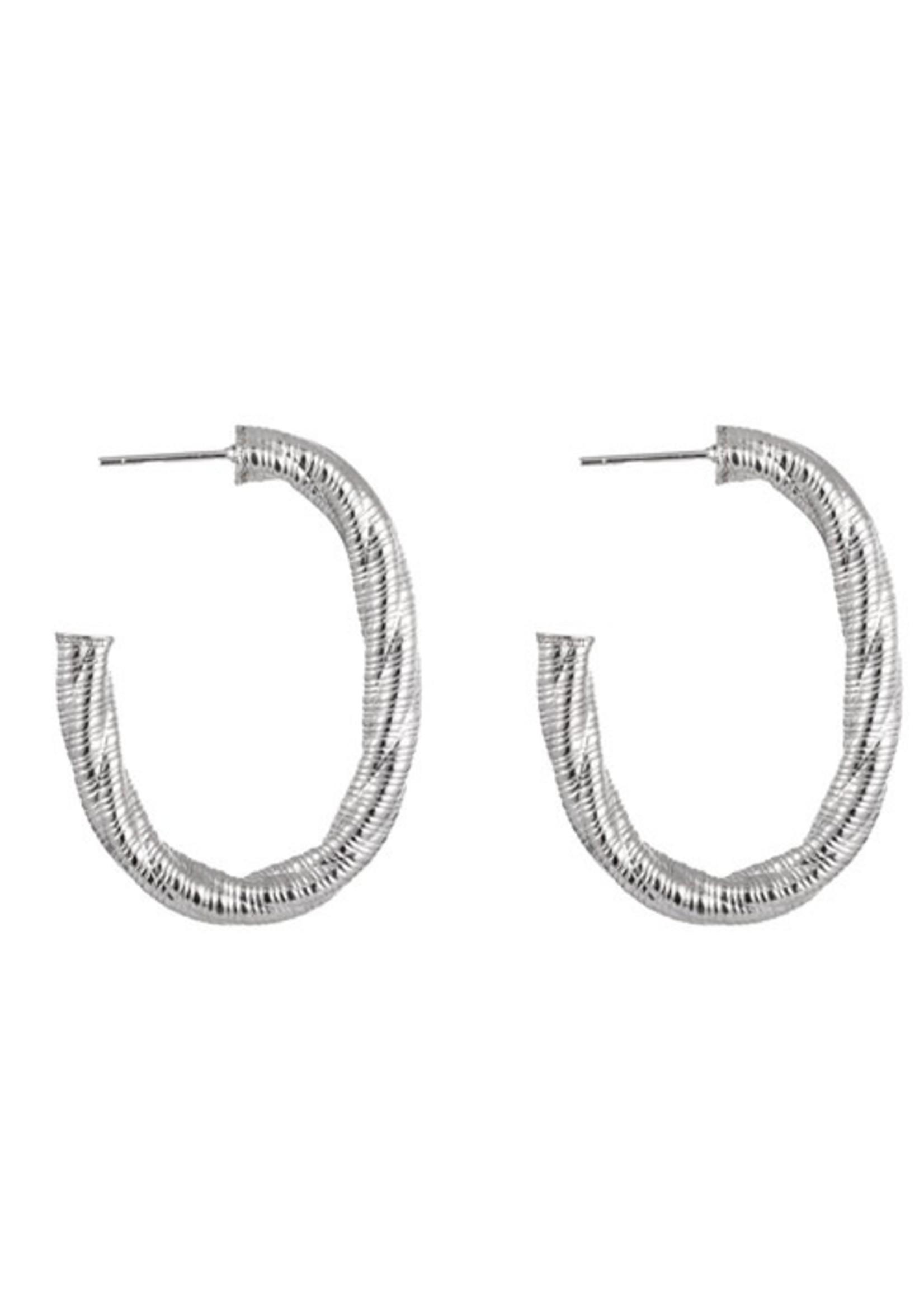 Oorbel zilver E1426-1