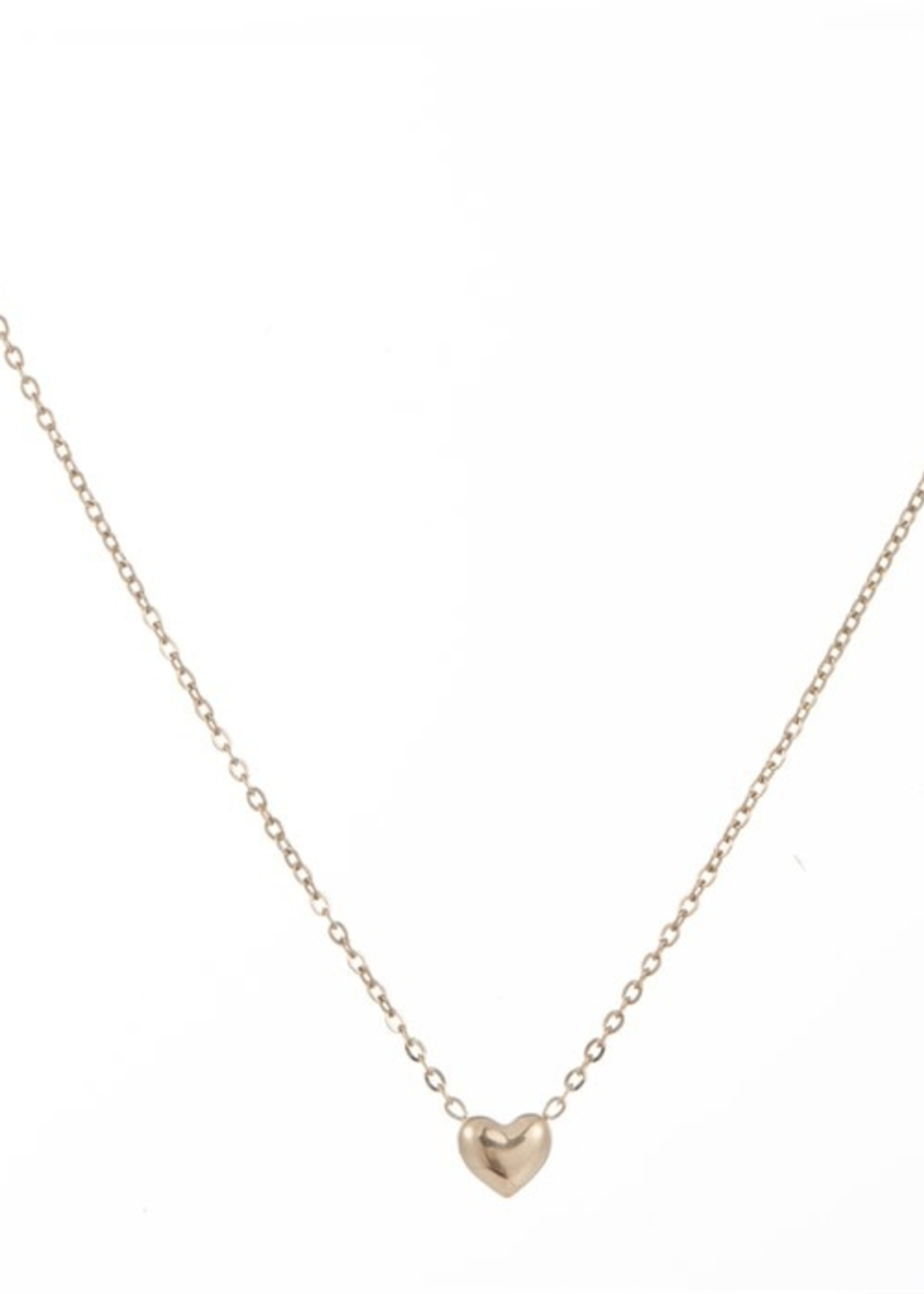 Ketting goud hartje N8829-2