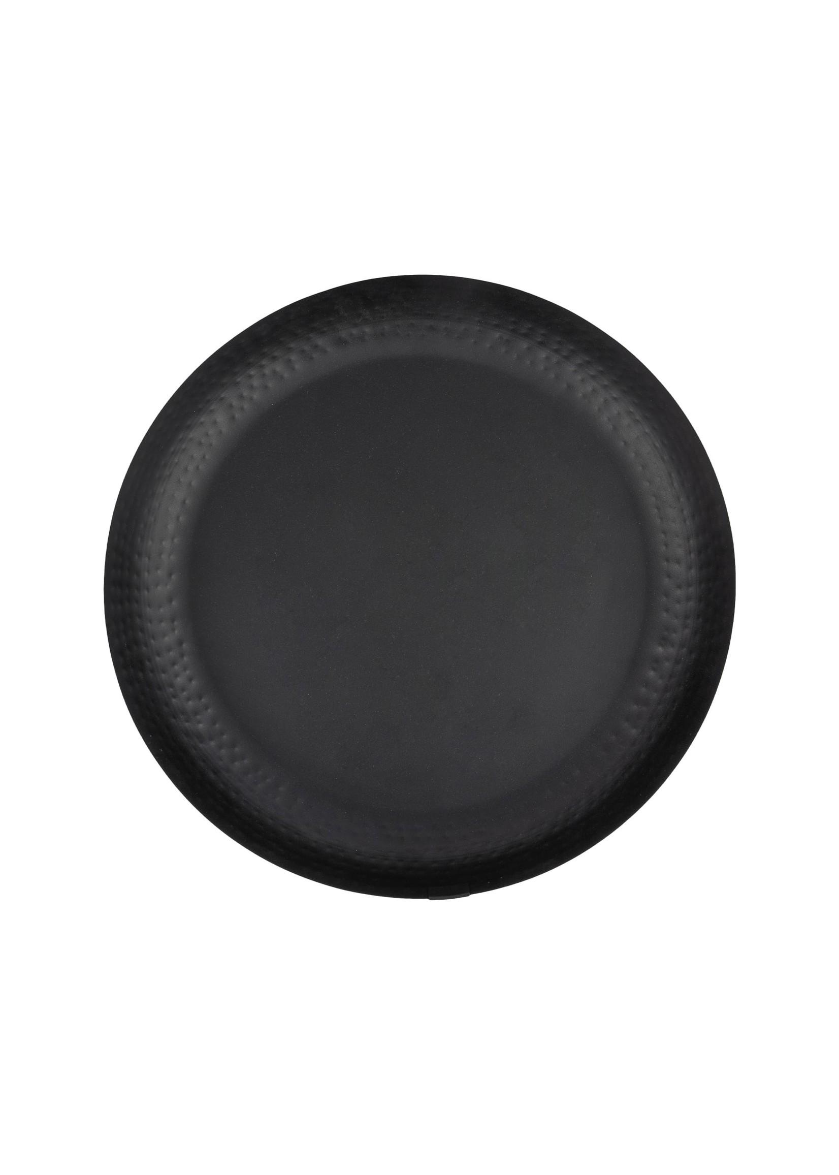 ZUSSS stylingbord metaal 30cm zwart