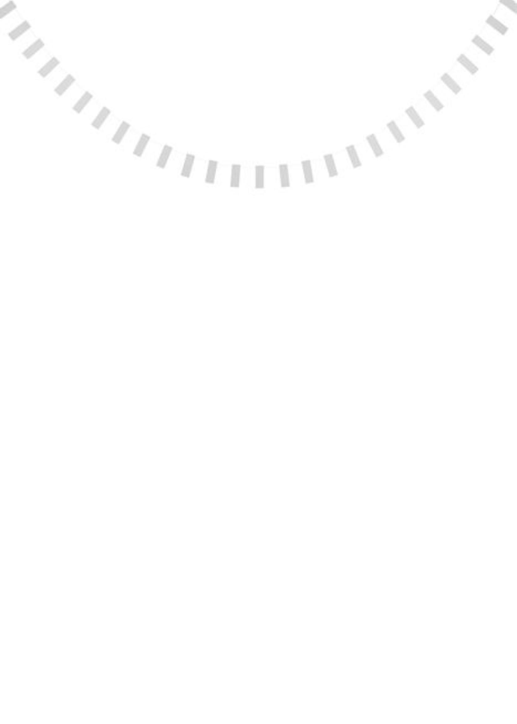 ZUSSS feestslinger rechthoek 225cm gespikkeld wit
