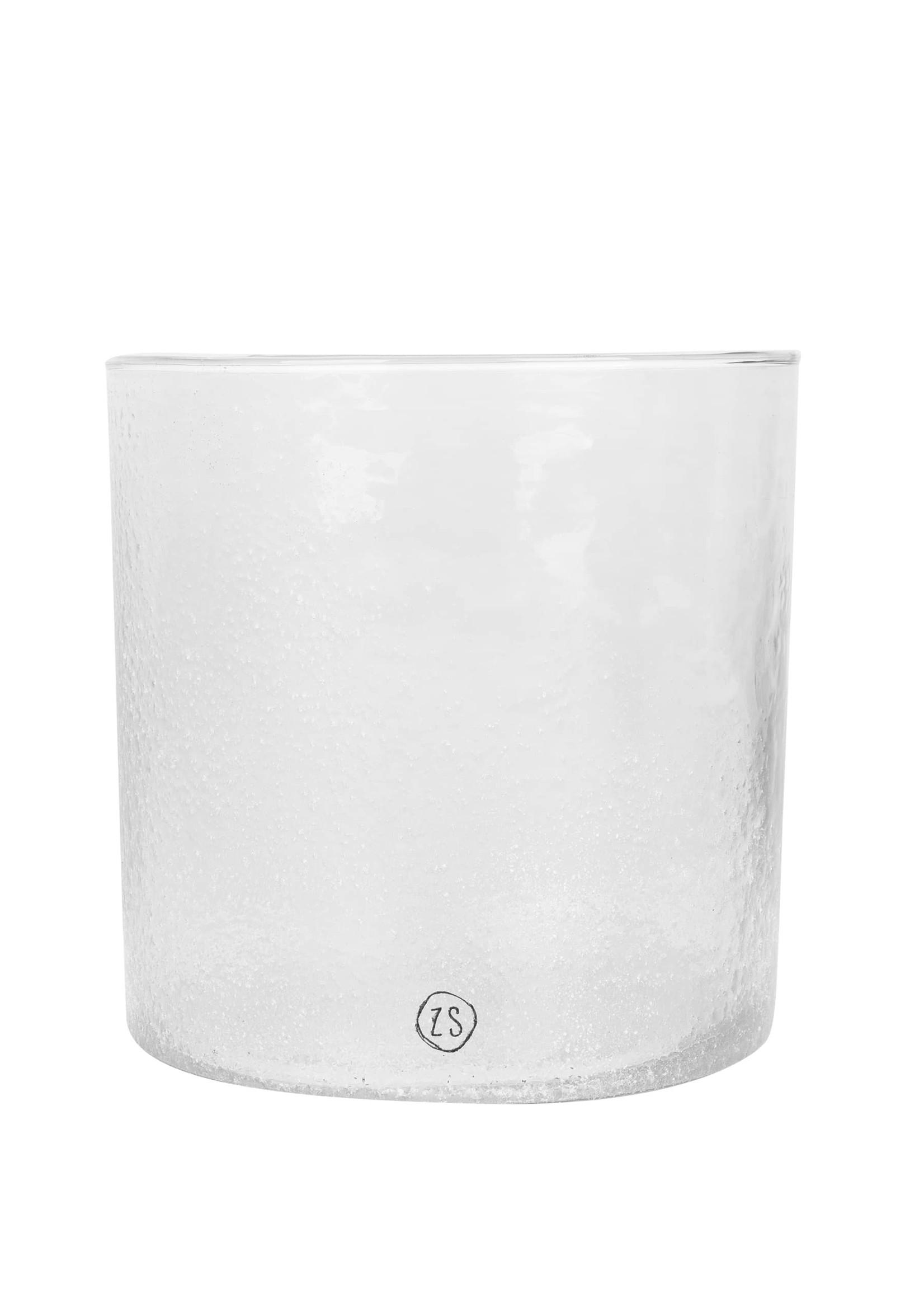 ZUSSS kaarsenhouder frosted glas