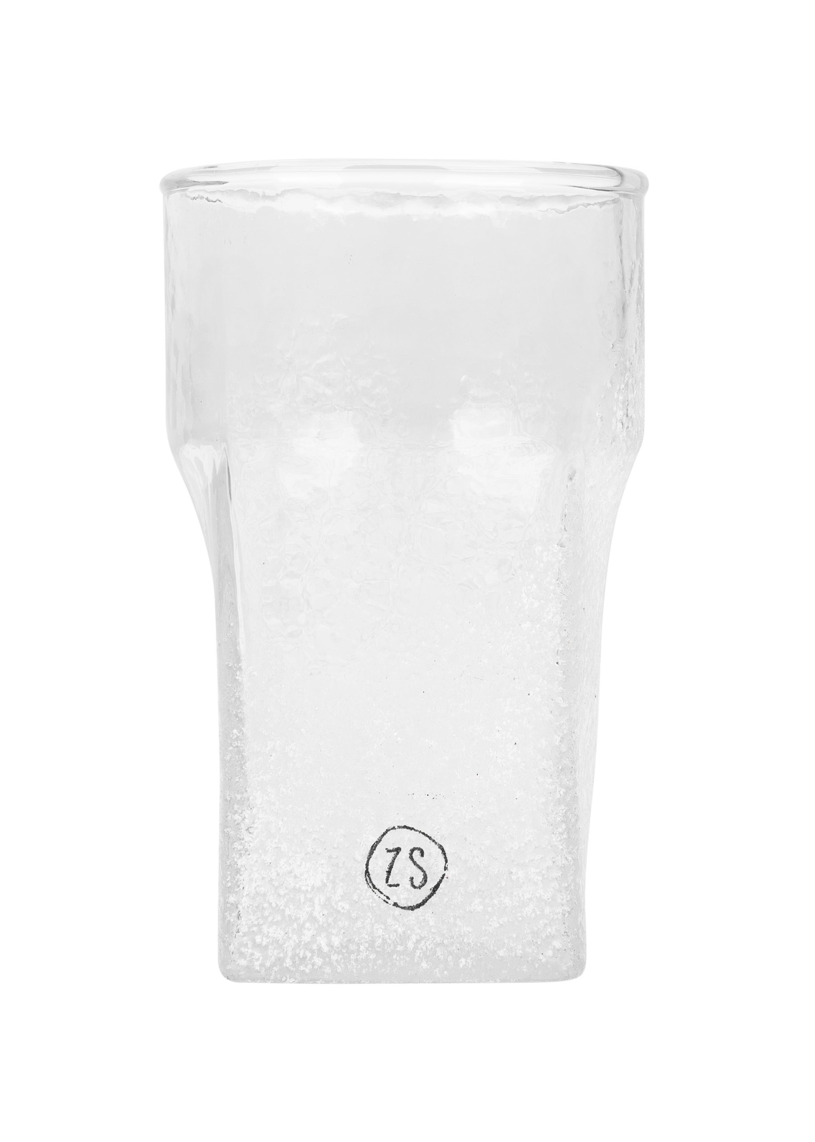 ZUSSS waxinelichthouder frosted glas