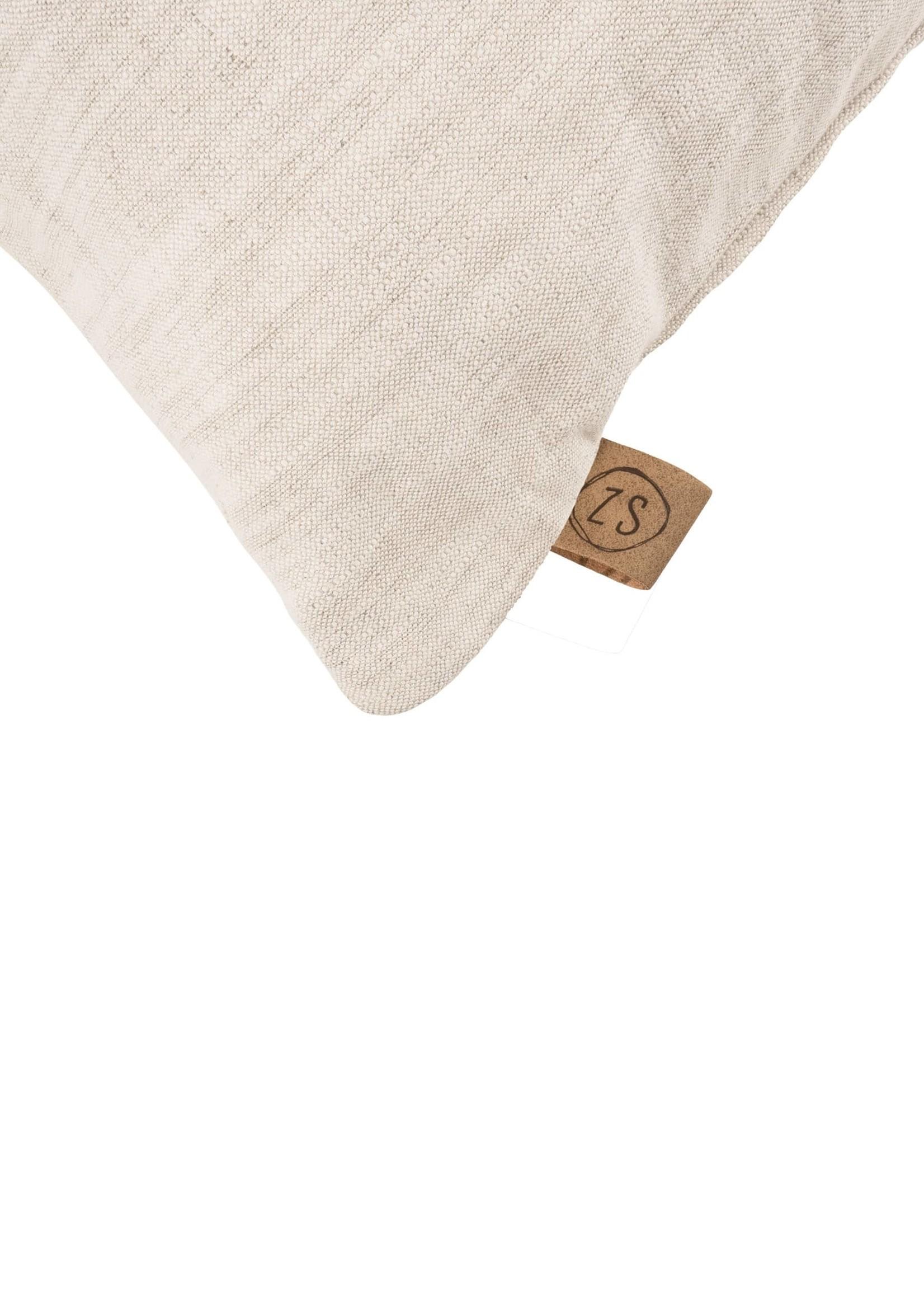 ZUSSS kussen letter z 45x45cm peper en zout