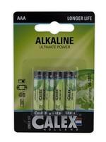 Calex Calex Alkaline slim penlite LR03/AAA 1,5V, blister 4 stuks