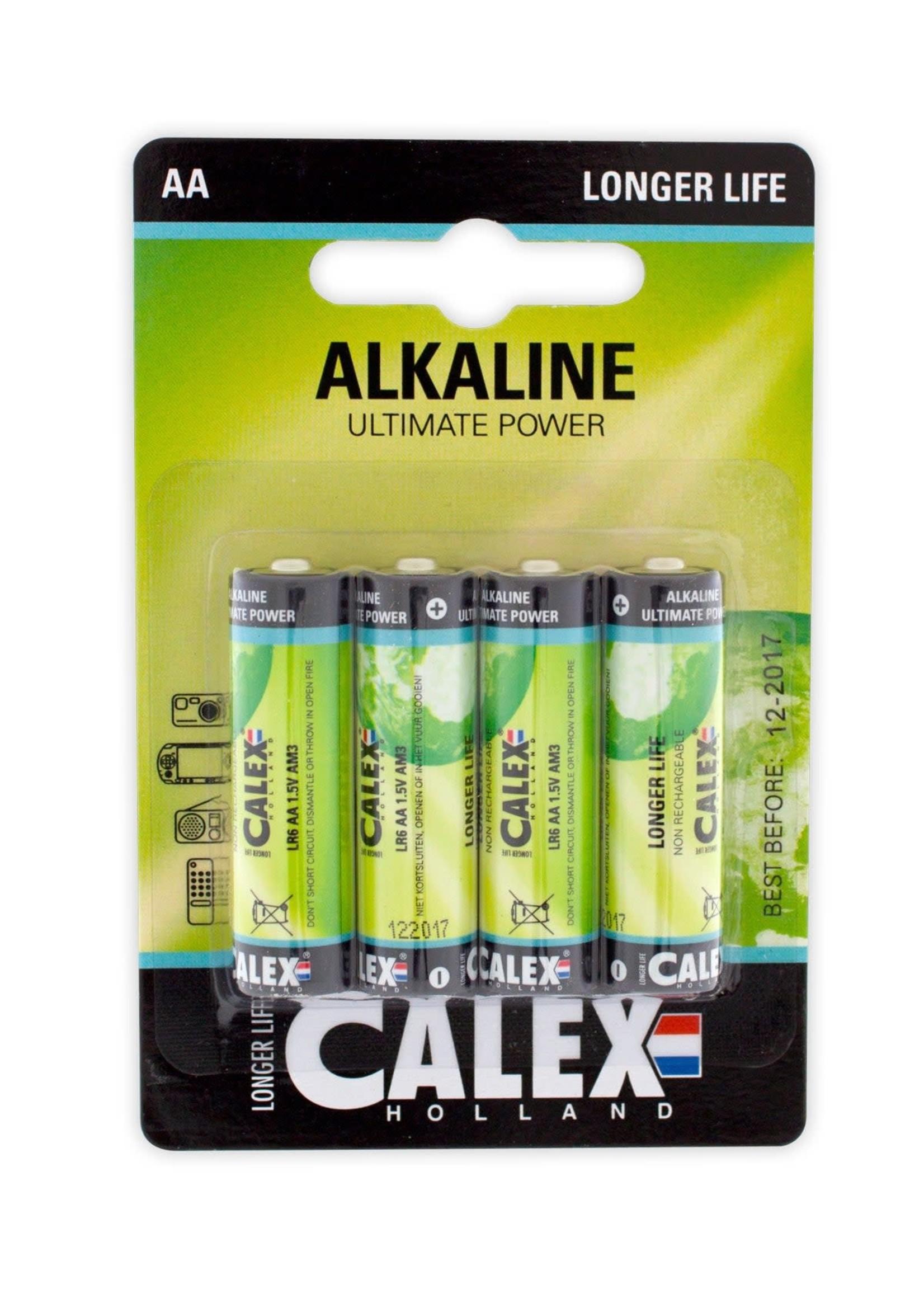 Calex Calex Alkaline penlite LR6/AA 1,5V, blister 4 stuks