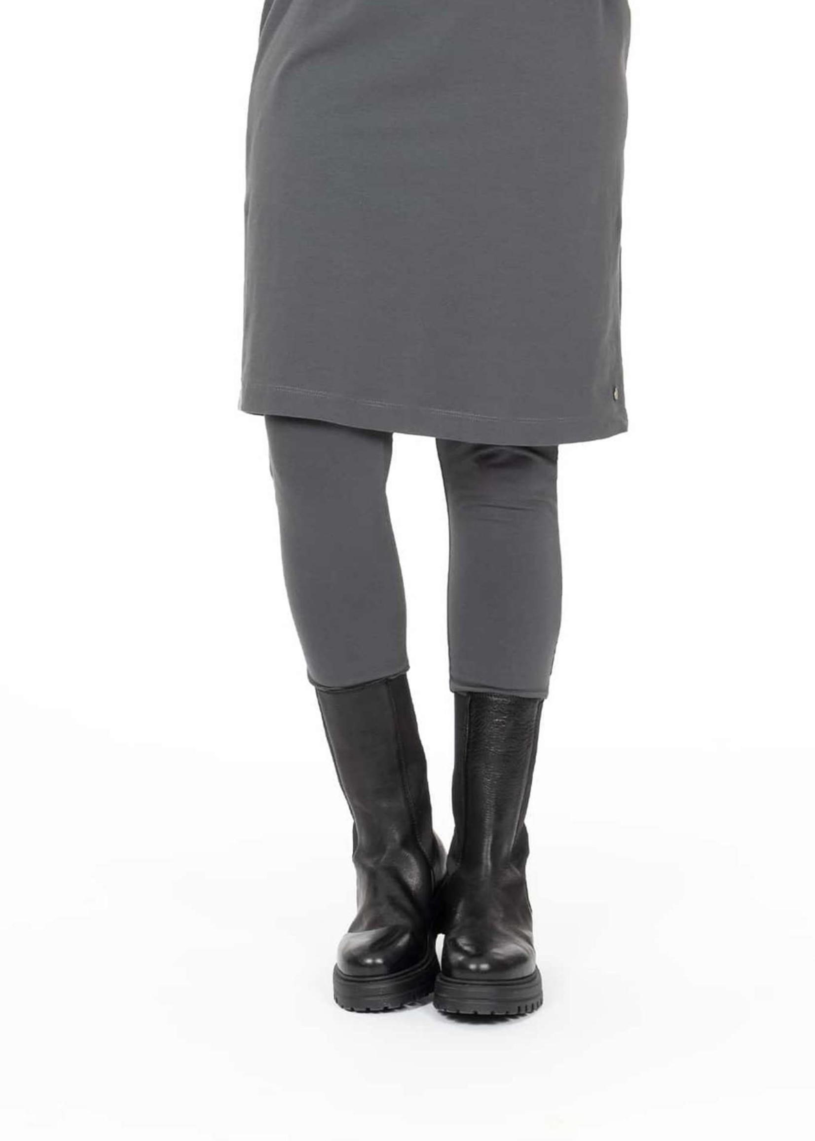 ZUSSS vlotte legging antracietgrijs