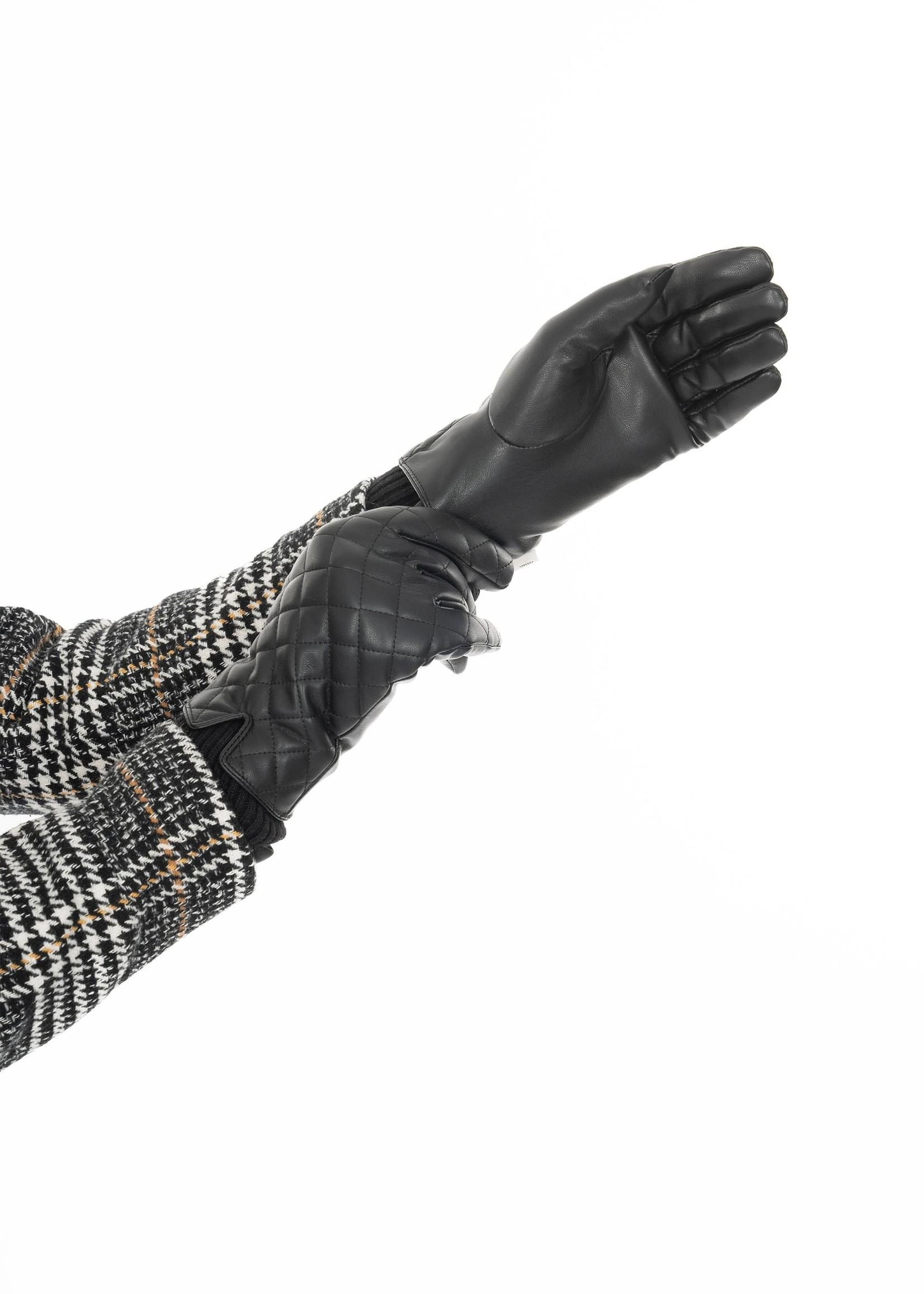 ZUSSS chique handschoen zwart