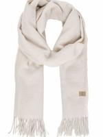 ZUSSS basic sjaal met franjes crème