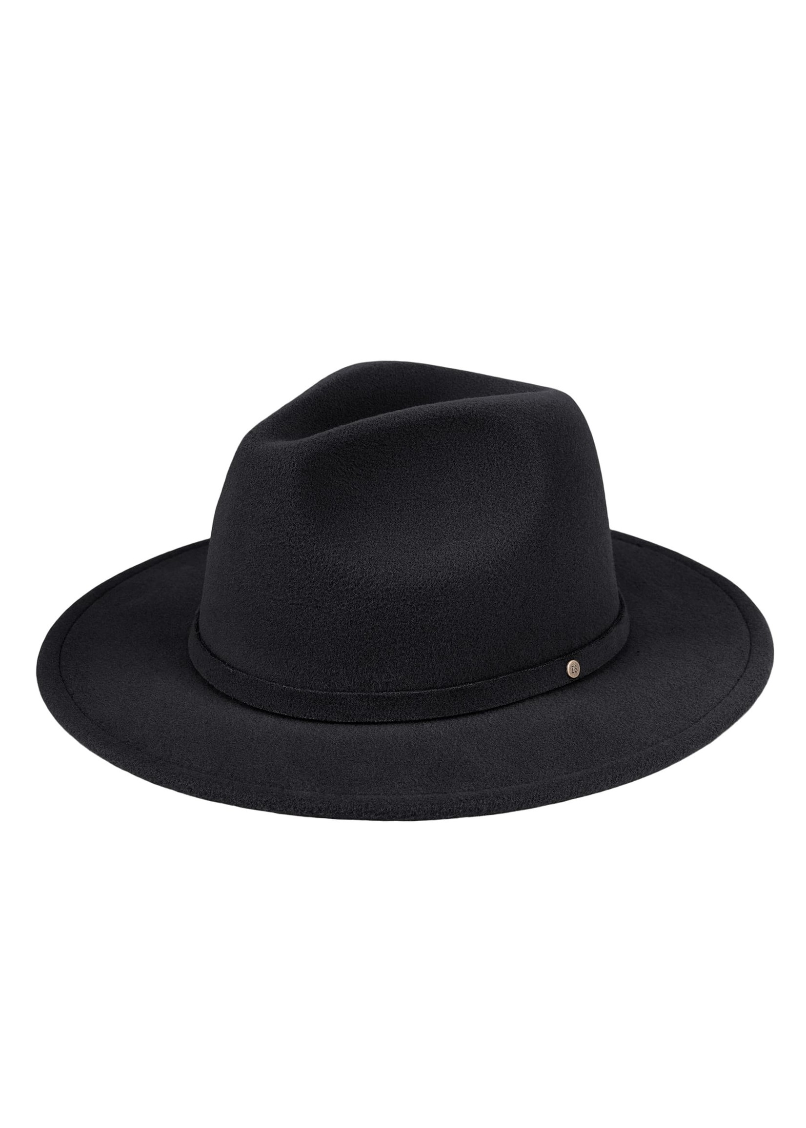 ZUSSS chique hoed zwart
