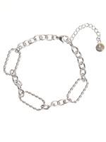 Armband zilver verschillende schakels B1709-1
