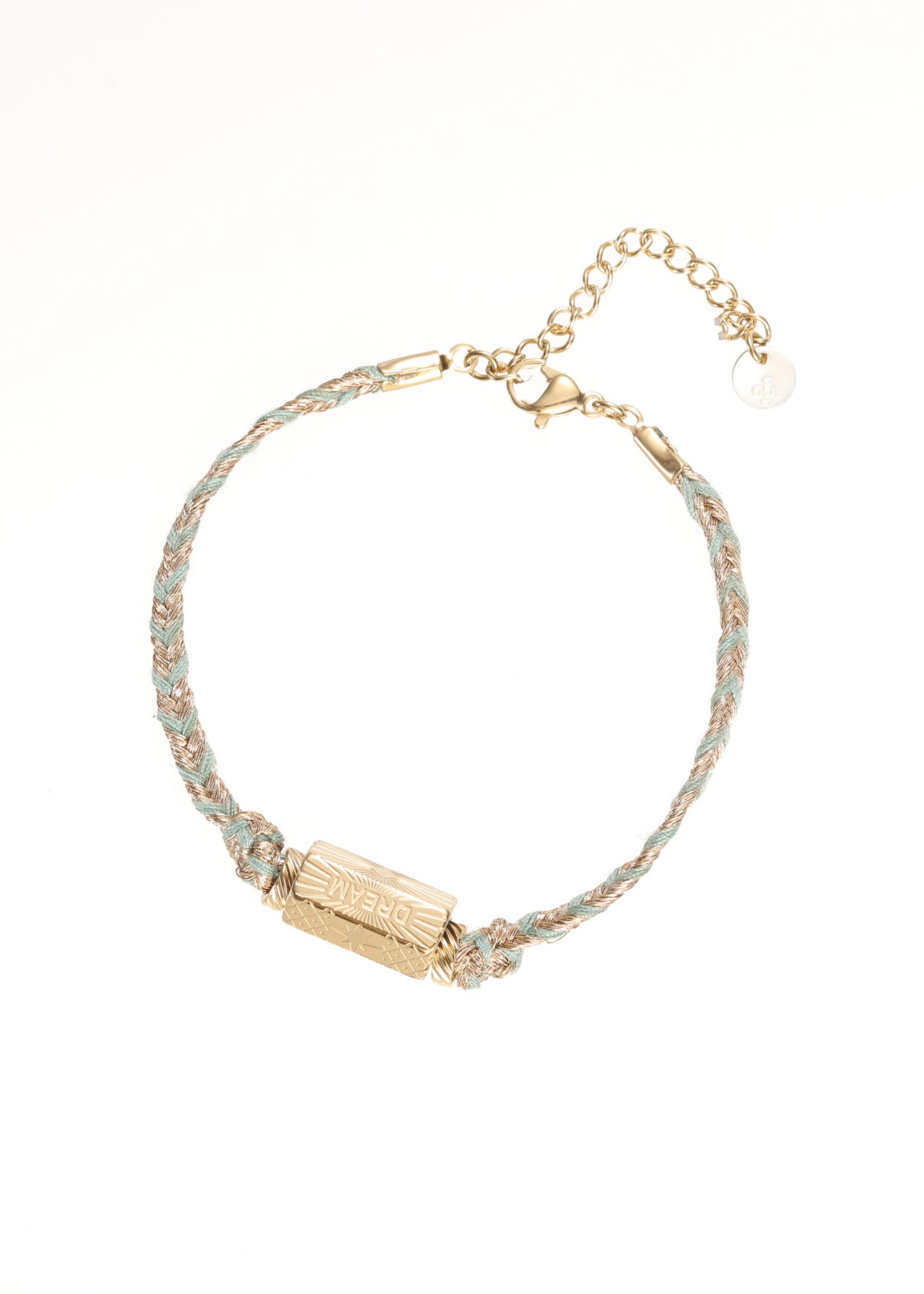 Armband goud/ gekleurd Dream B1834-2