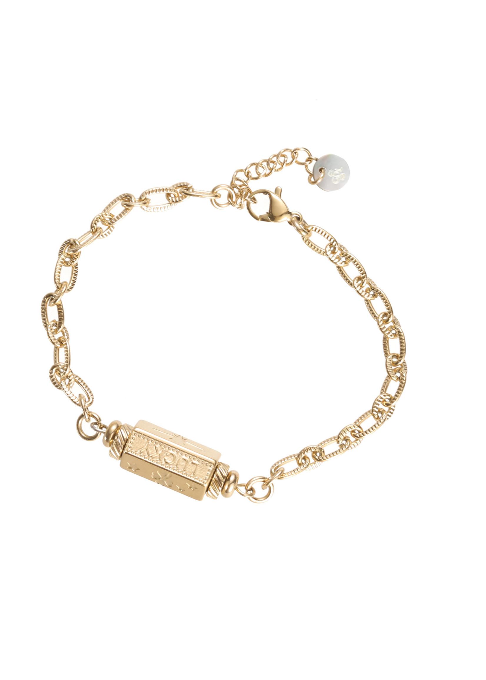 Armband goud Lucky B1838-2