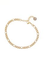 Armband goud met verschillende schakels B1860-2