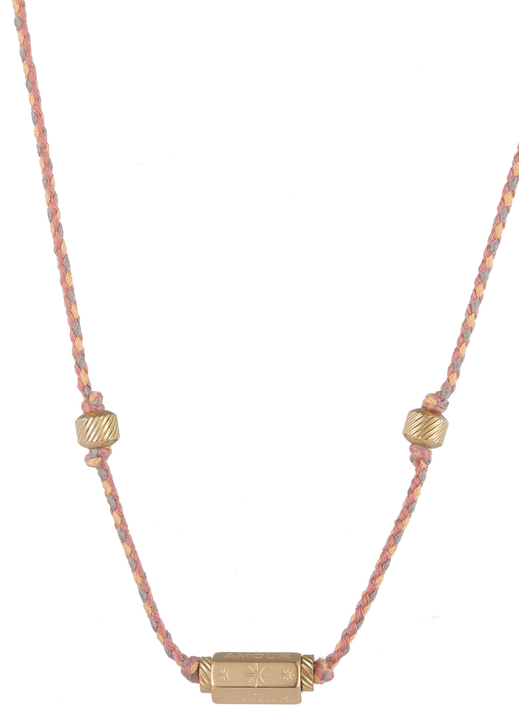 Ketting goud/ gekleurd Amour N1836-2