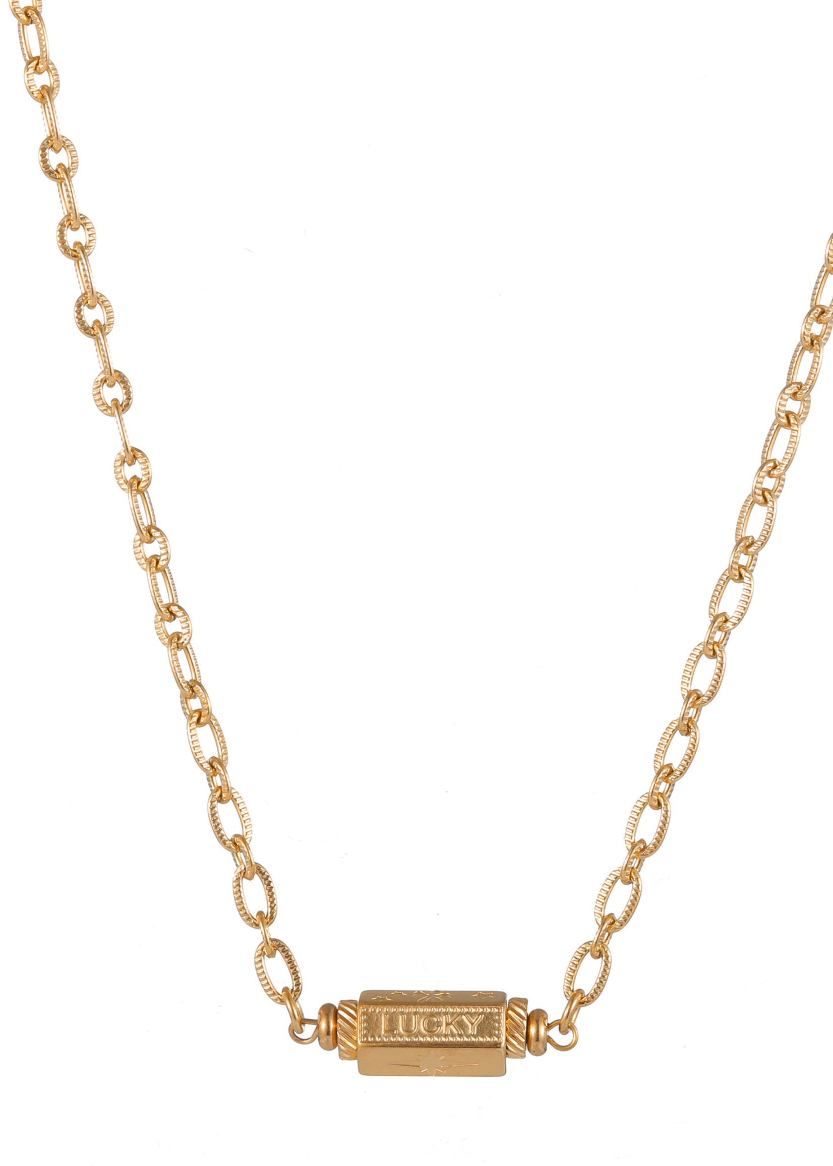Ketting goud Lucky N1838-2