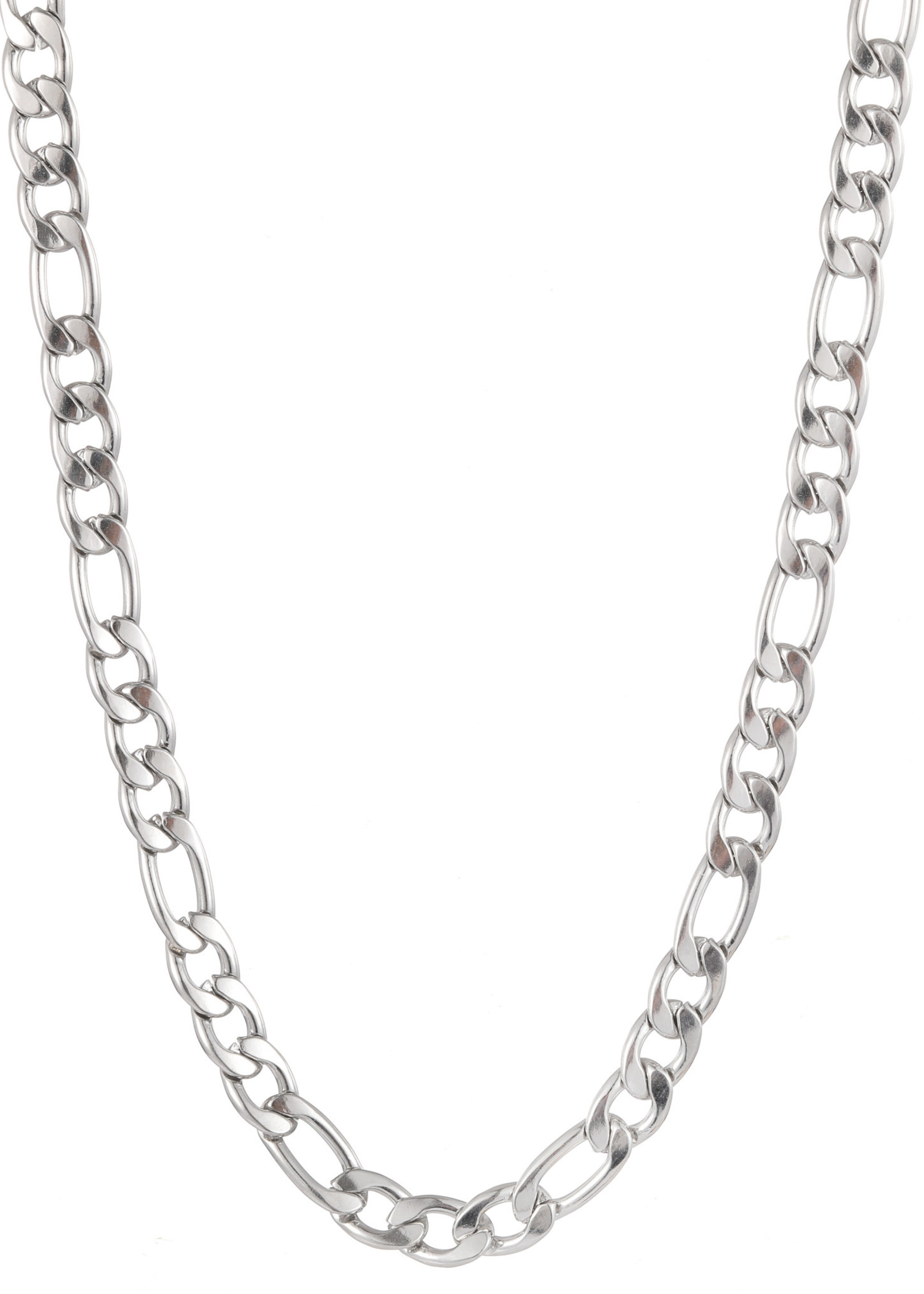 Ketting zilver met verschillende schakels N1856-1