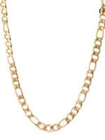 Ketting goud met verschillende schakels N1856-2