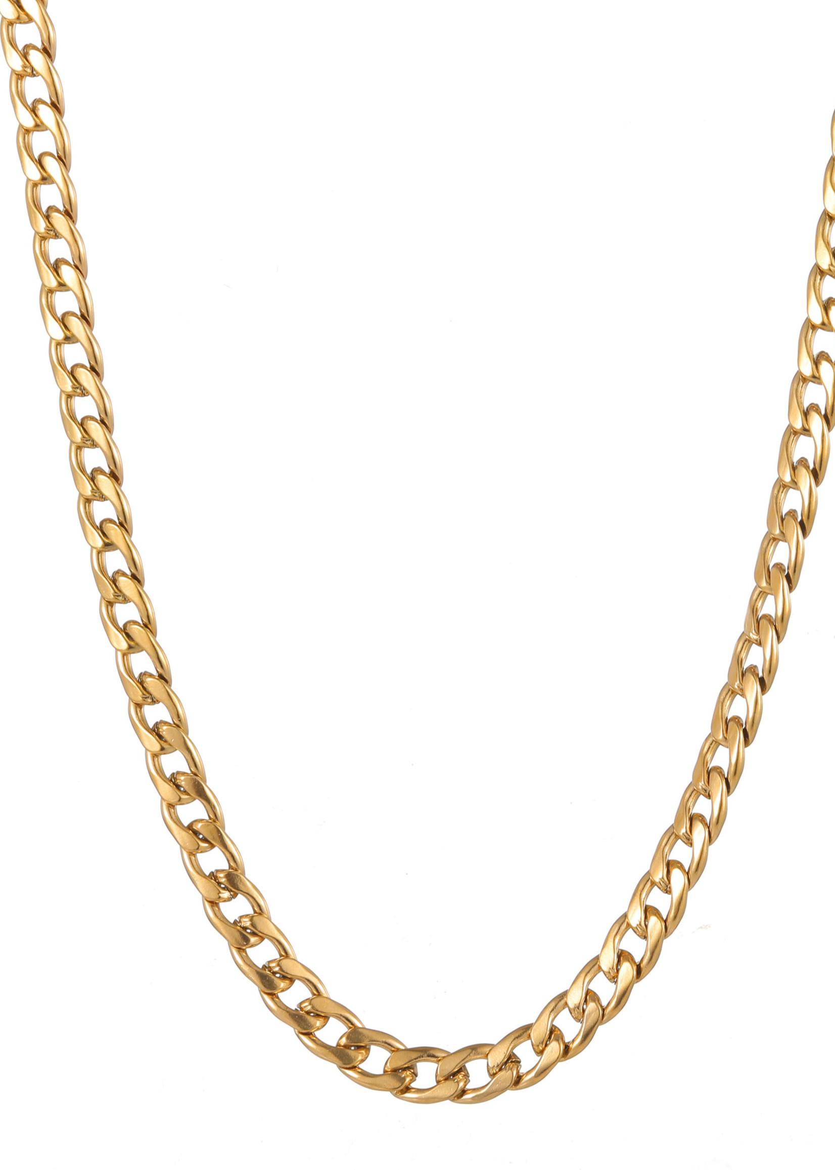 Ketting goud grove schakel N1858-2