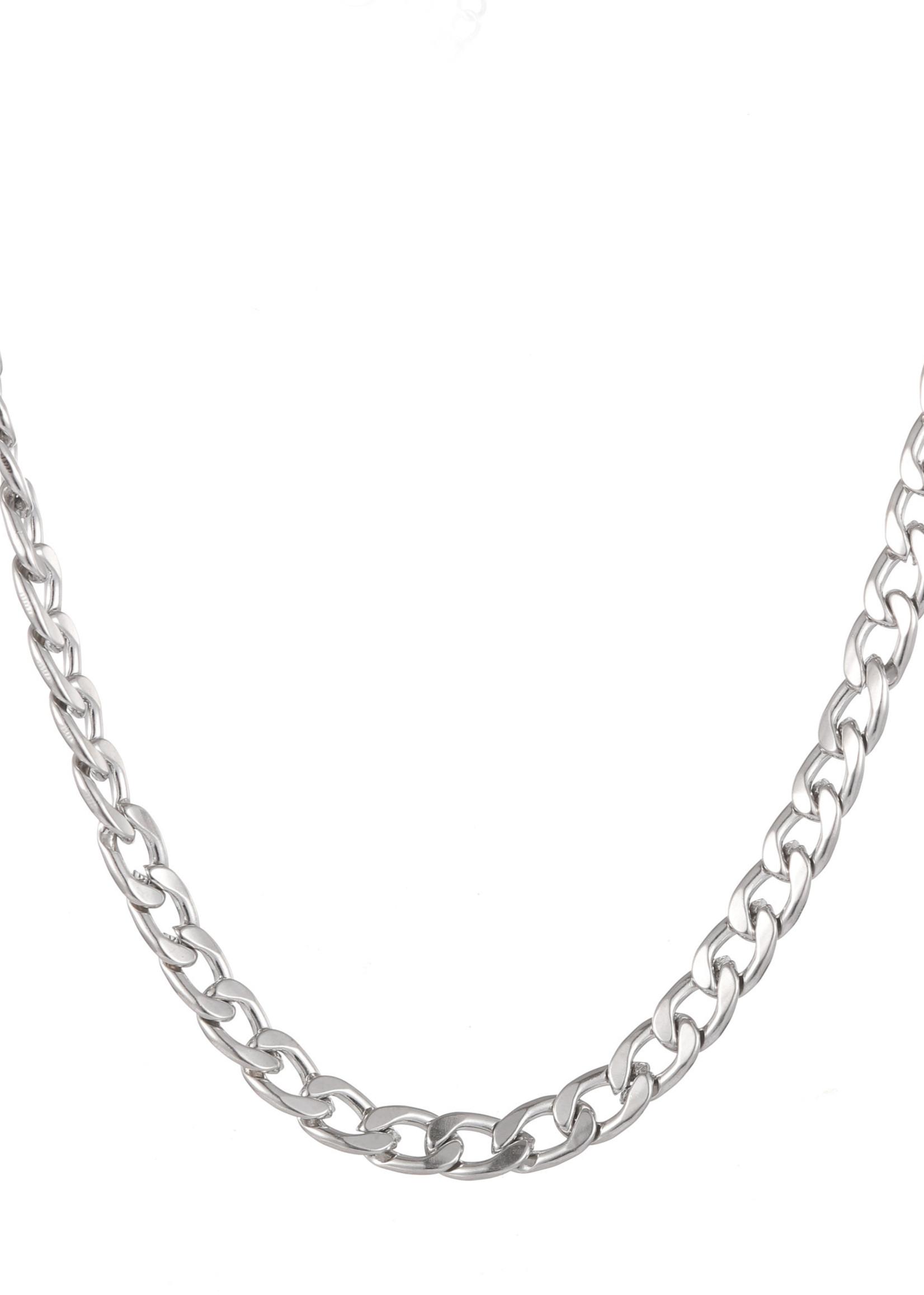 Ketting zilver schakel N1858-1