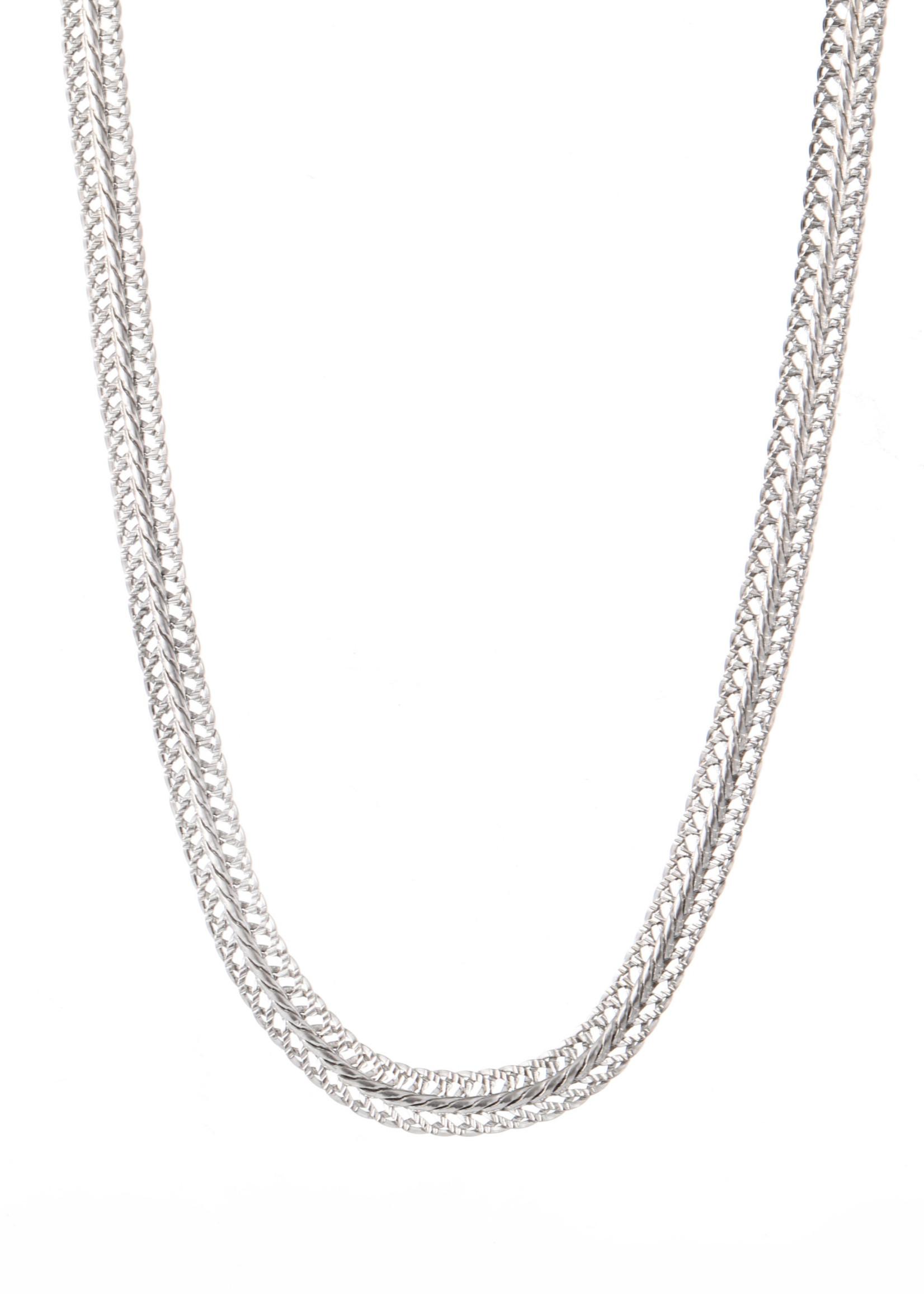 Ketting zilver breed N1859-1