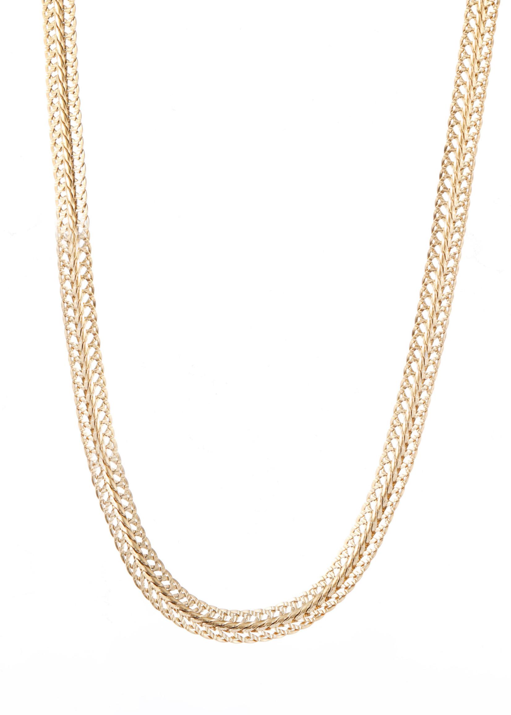 Ketting goud breed N1859-2