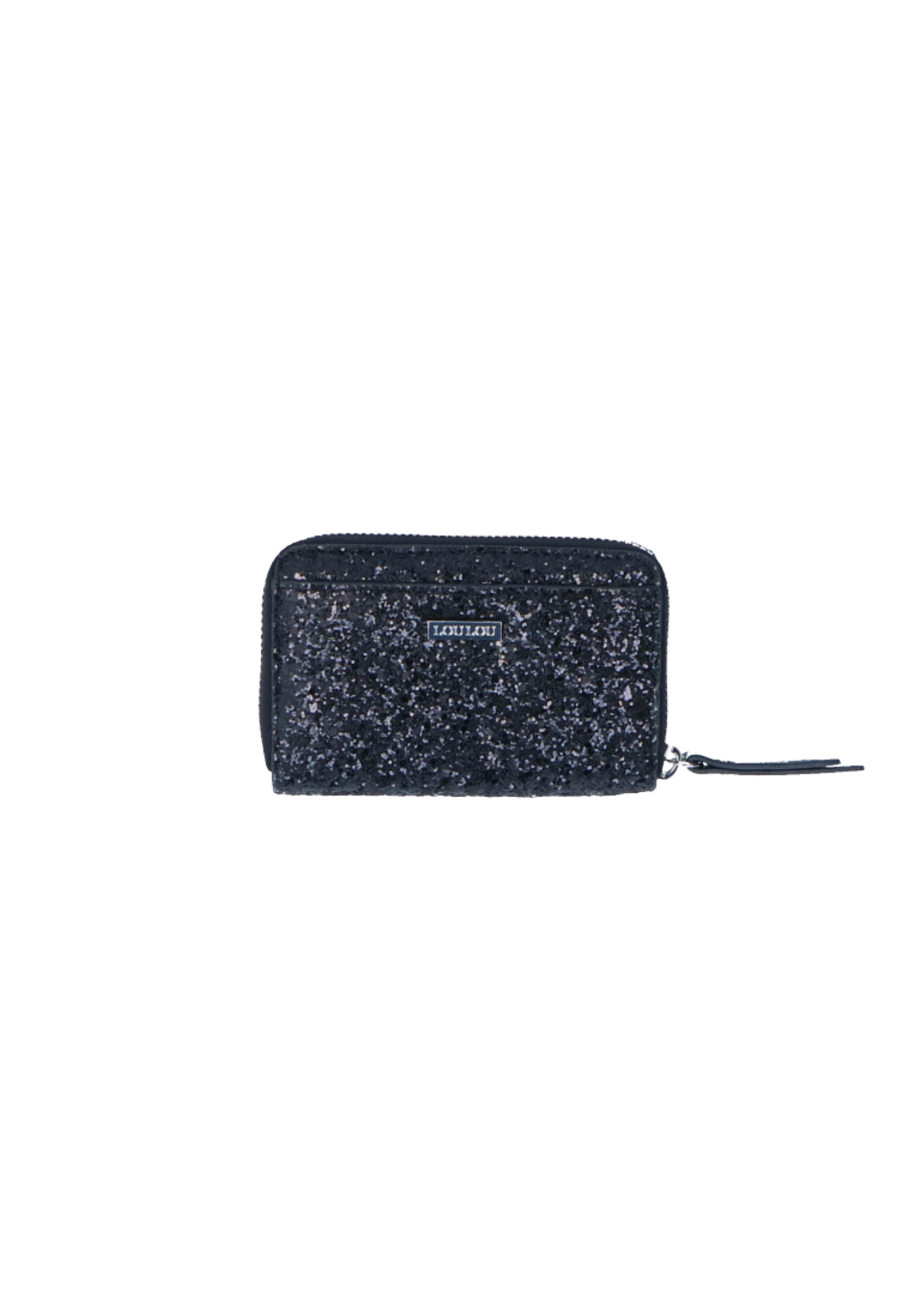 LouLou Kleine RFID Portemonnee Stardust - Caviar