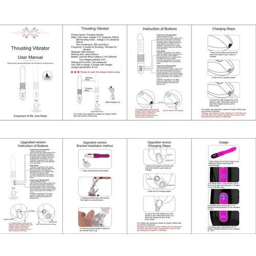 Hismith Stotende Vibrator - G-Spot Vibrator - Vibrator - Handheld seksmachine