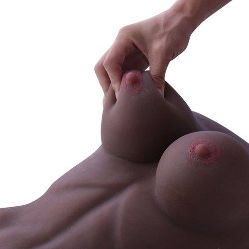 Shemale Sekspop Mercedes lichaam Grote Penis Borsten Anaal